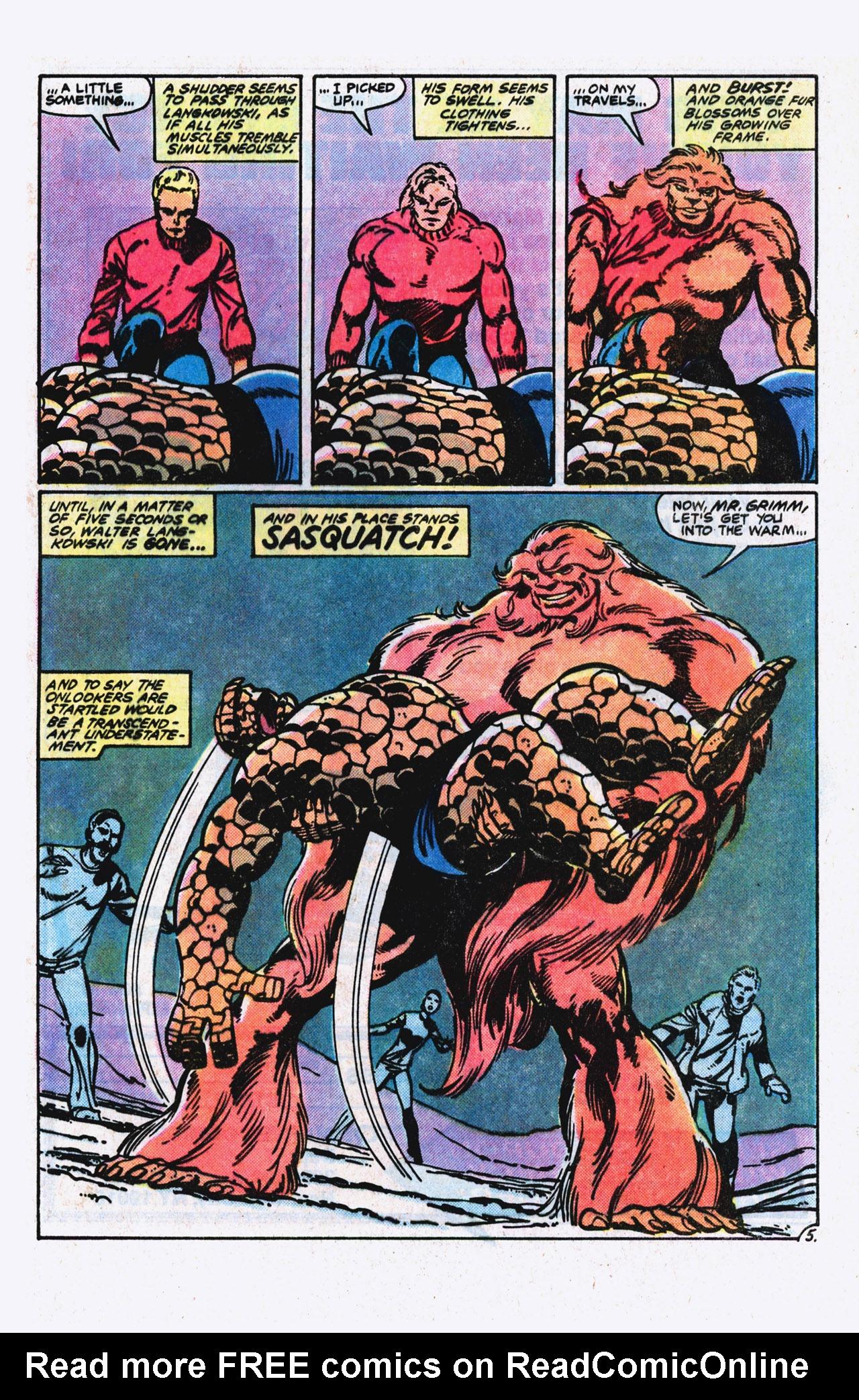 Read online Alpha Flight (1983) comic -  Issue #9 - 6