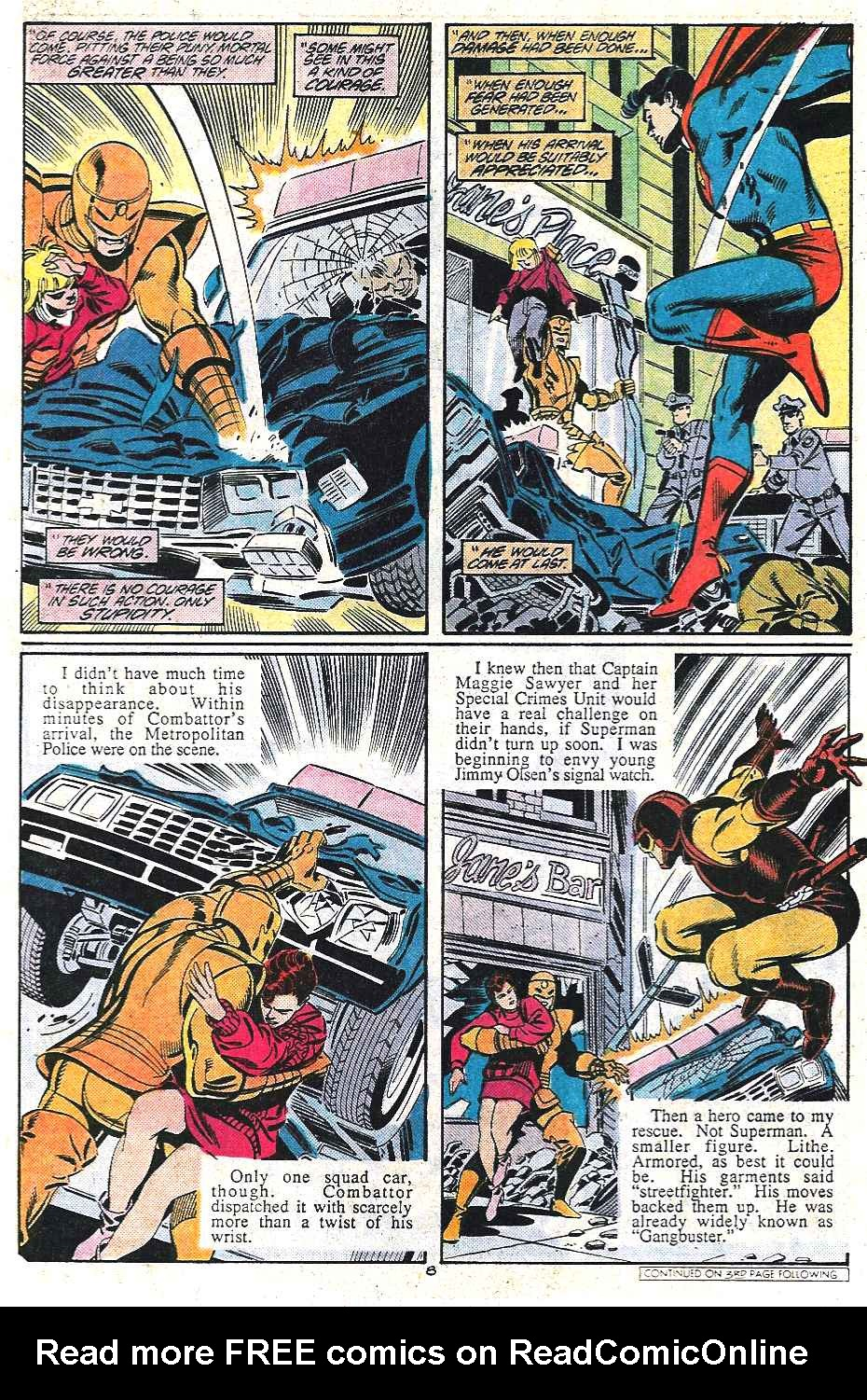 Read online Adventures of Superman (1987) comic -  Issue #437 - 8