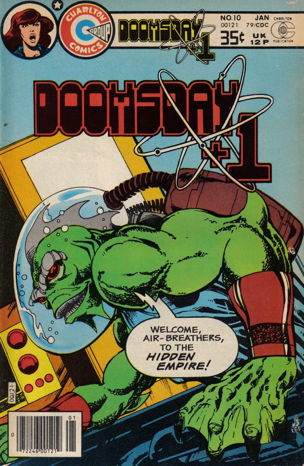 Read online Doomsday   1 (1975) comic -  Issue #10 - 1