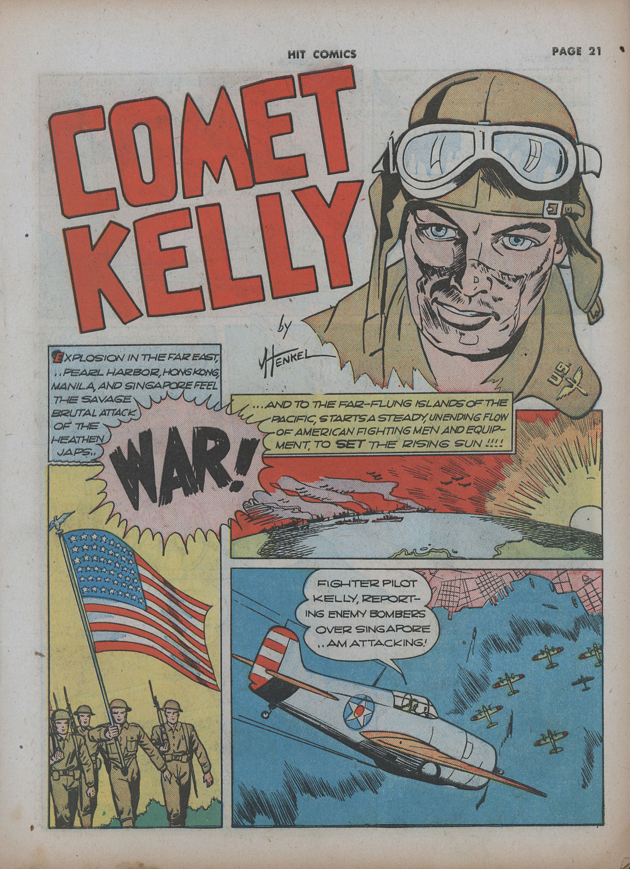 Read online Hit Comics comic -  Issue #22 - 23