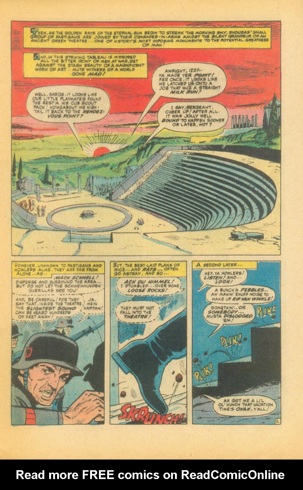 Read online Sgt. Fury comic -  Issue #99 - 17