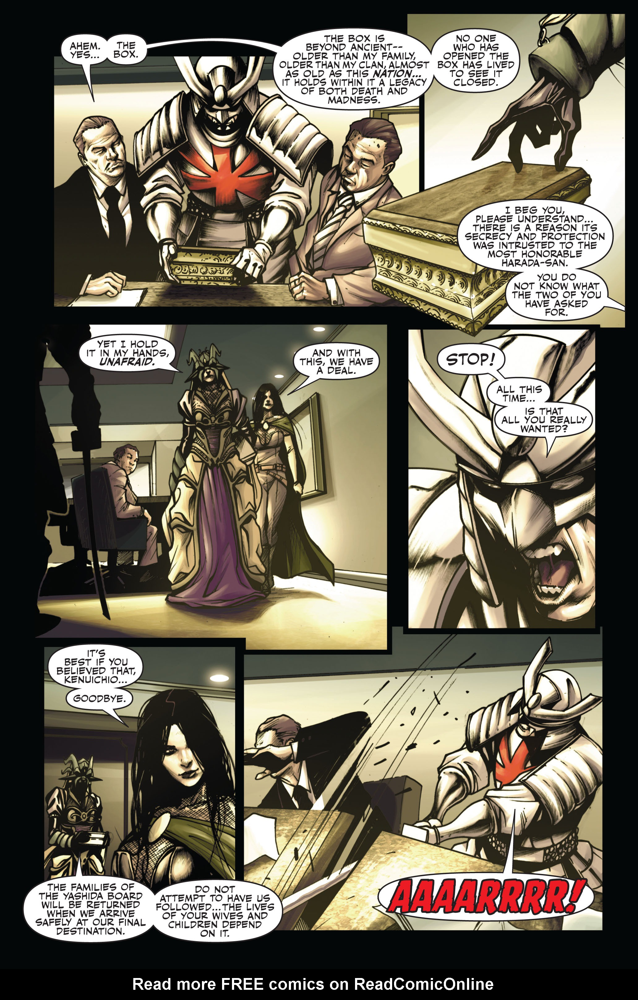 Read online Secret Warriors comic -  Issue #6 - 14