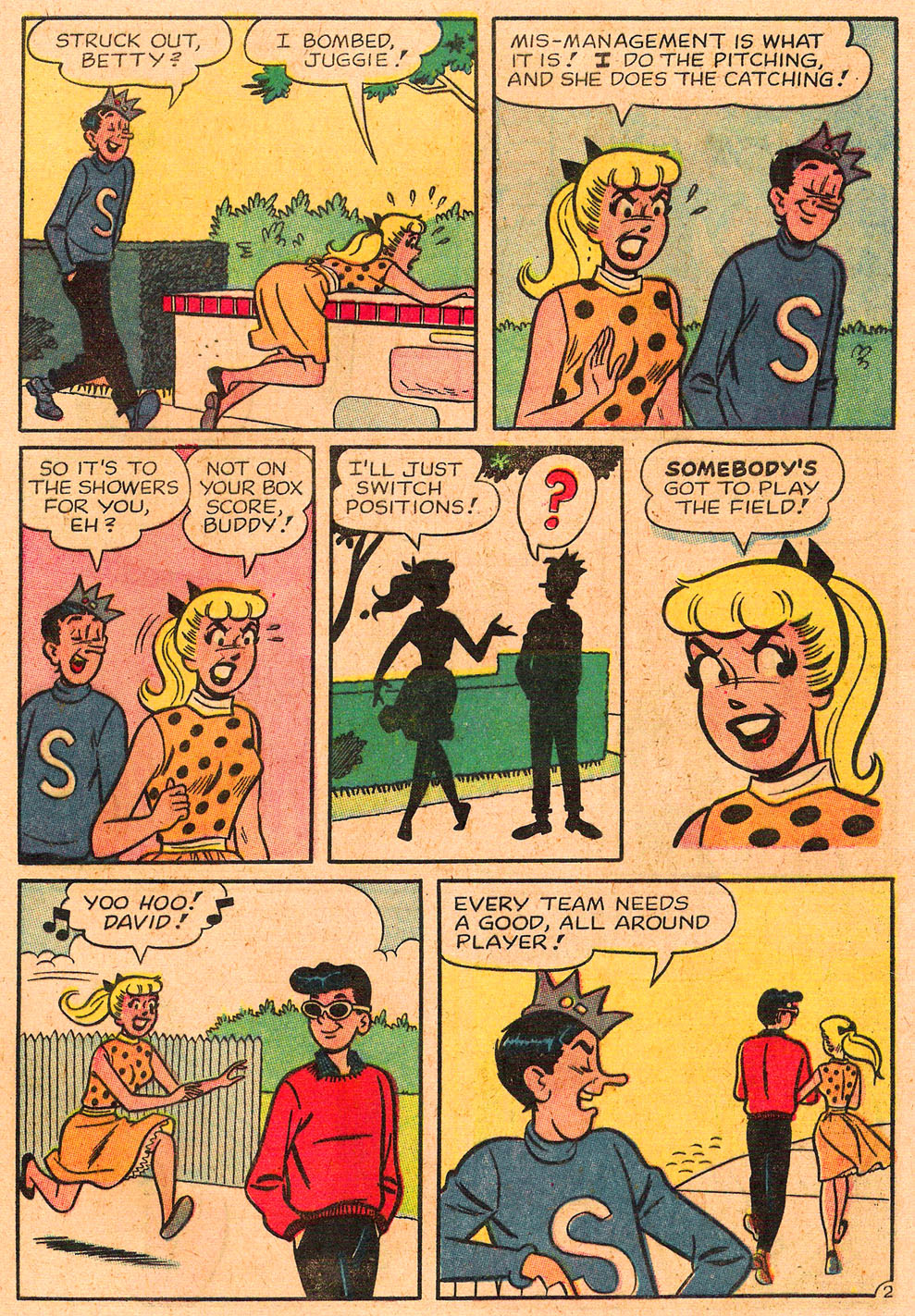 Read online Archie's Girls Betty and Veronica comic -  Issue #85 - 21