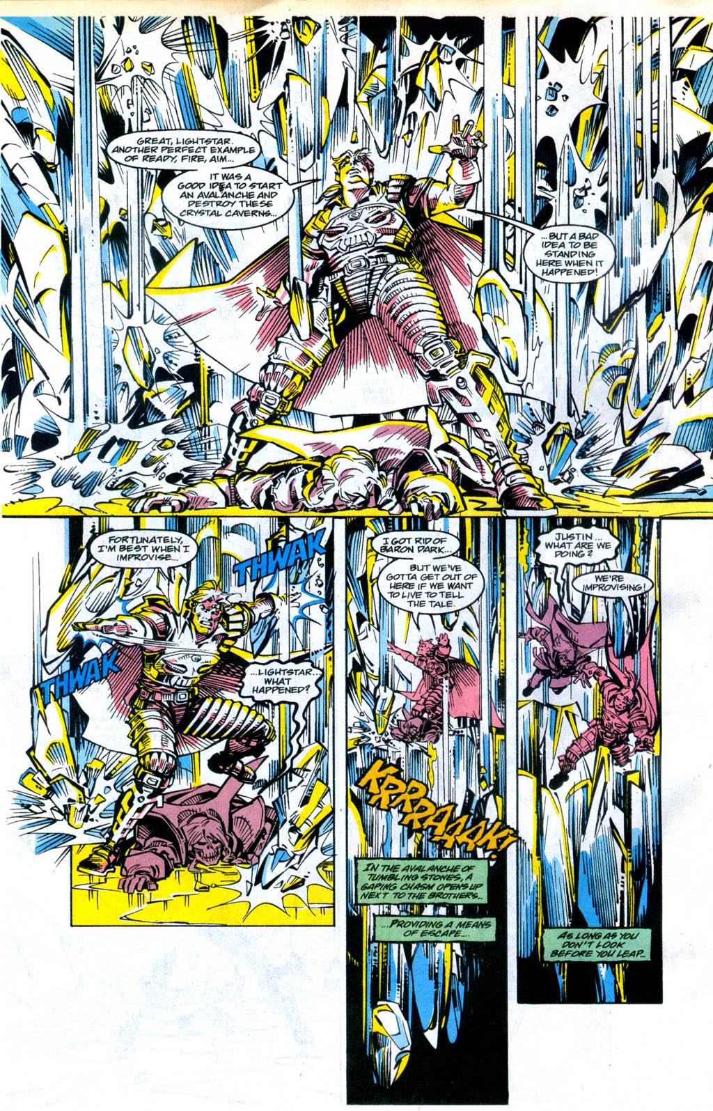 Skeleton Warriors Issue #4 #4 - English 5