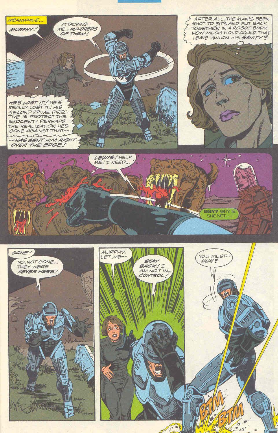Read online Robocop (1990) comic -  Issue #16 - 16