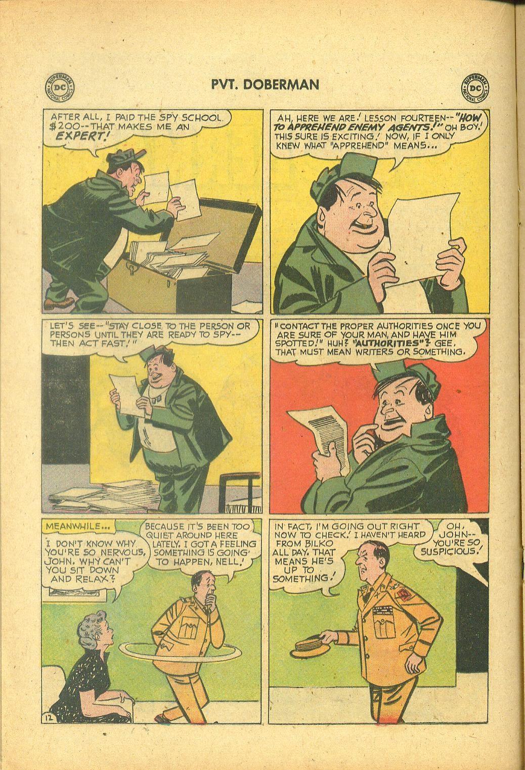 Sgt. Bilko's Pvt. Doberman issue 1 - Page 16
