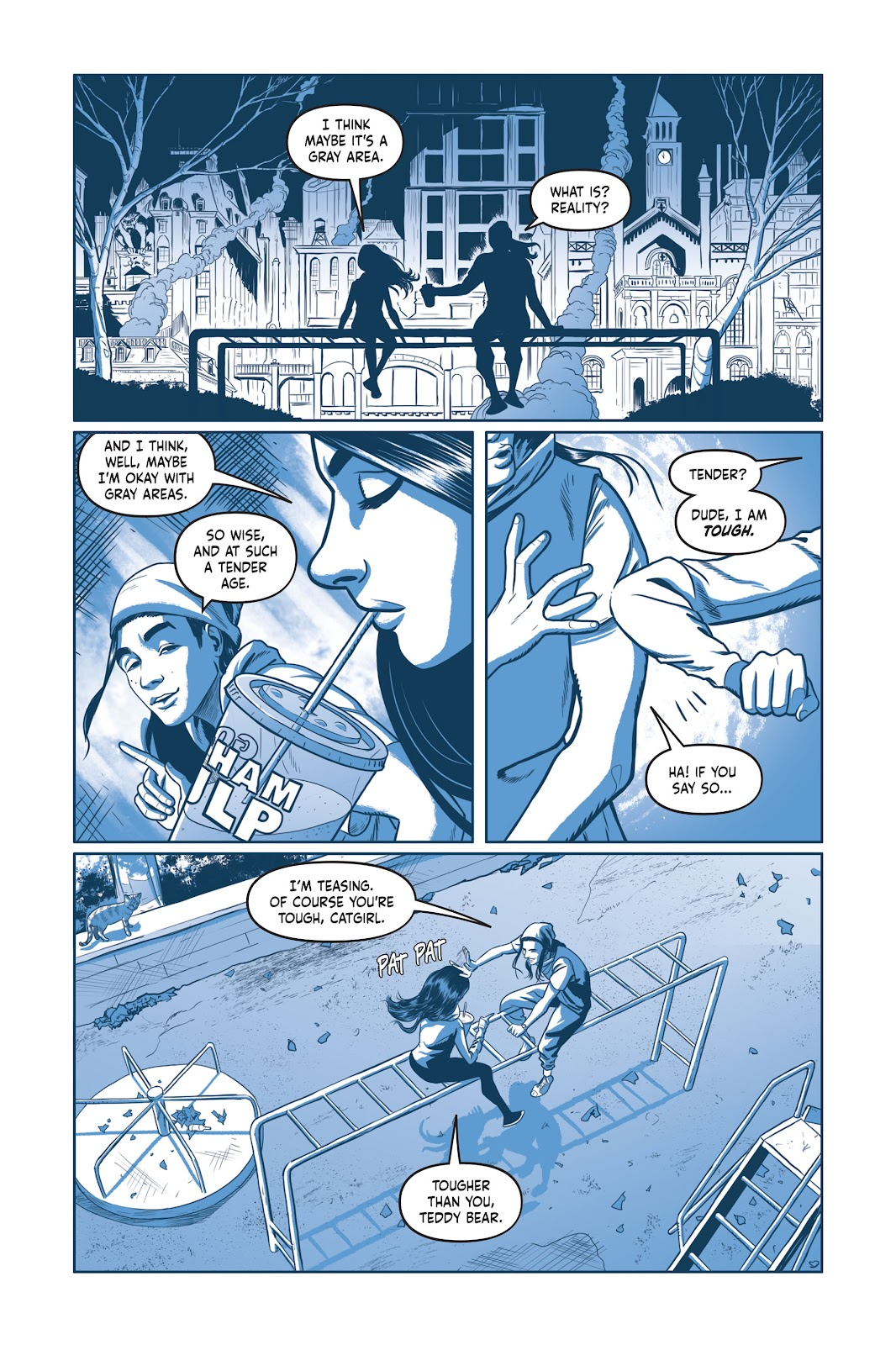 Read online Under the Moon: A Catwoman Tale comic -  Issue # TPB (Part 1) - 90