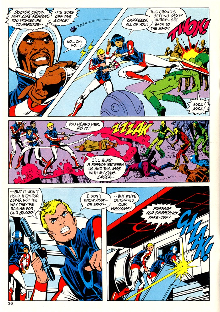Read online Atari Force (1982) comic -  Issue #5 - 28