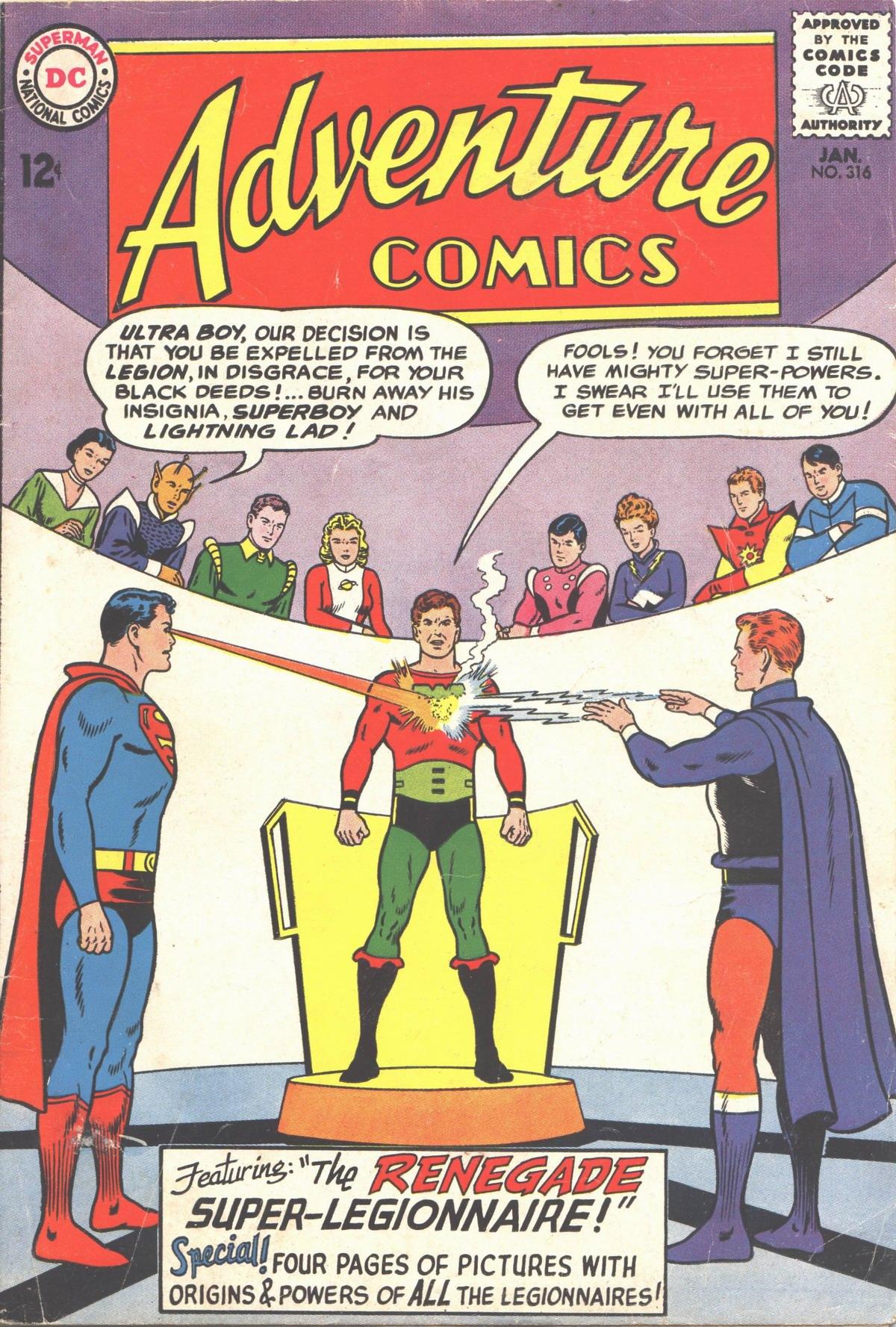 Read online Adventure Comics (1938) comic -  Issue #316 - 1