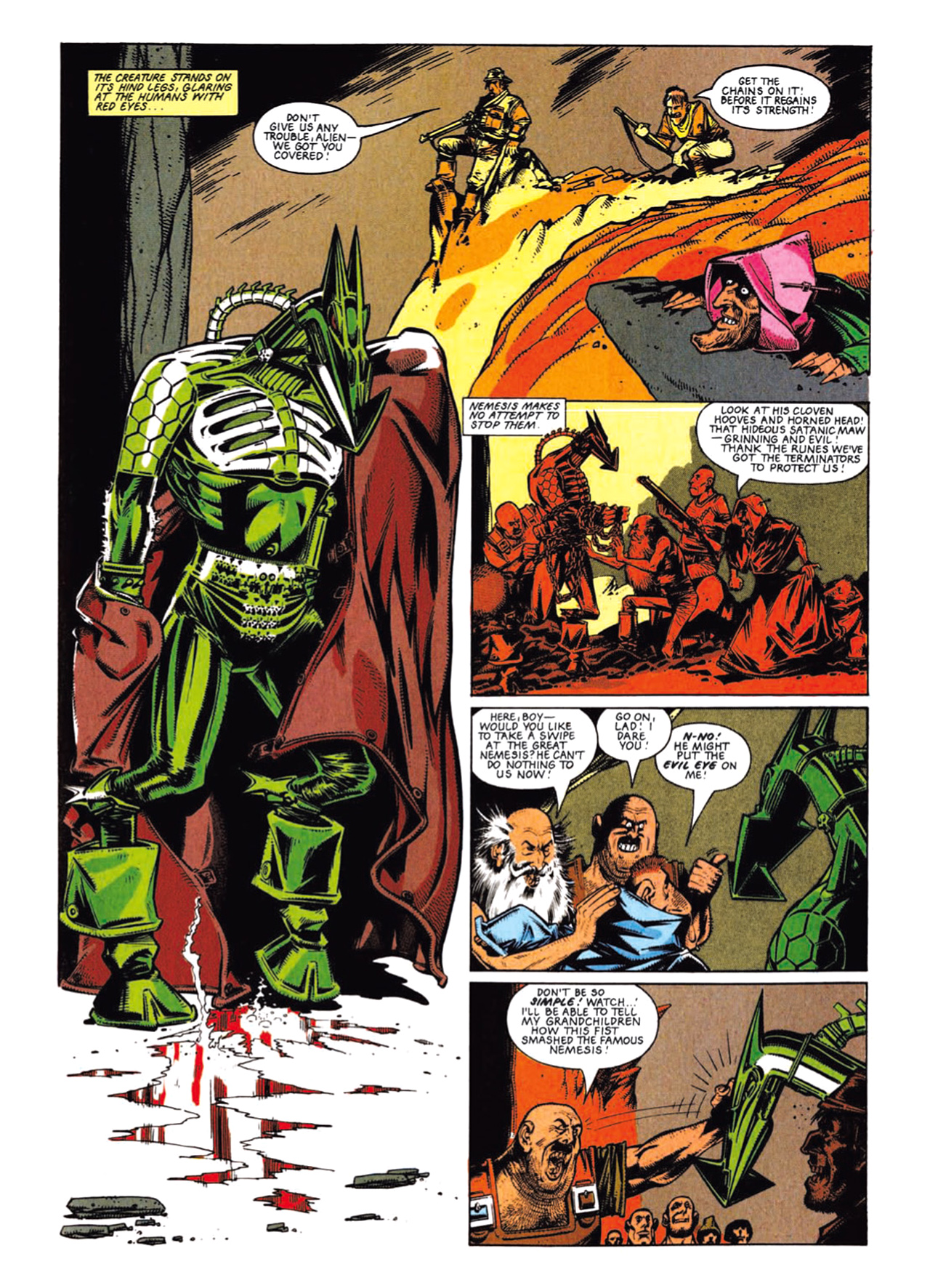 Read online Nemesis The Warlock comic -  Issue # TPB Deviant Edition - 31