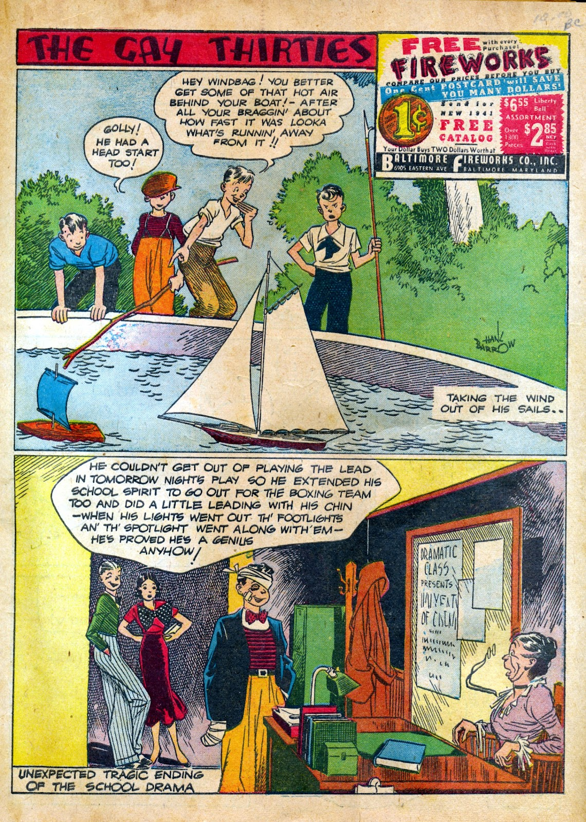Read online Famous Funnies comic -  Issue #82 - 3