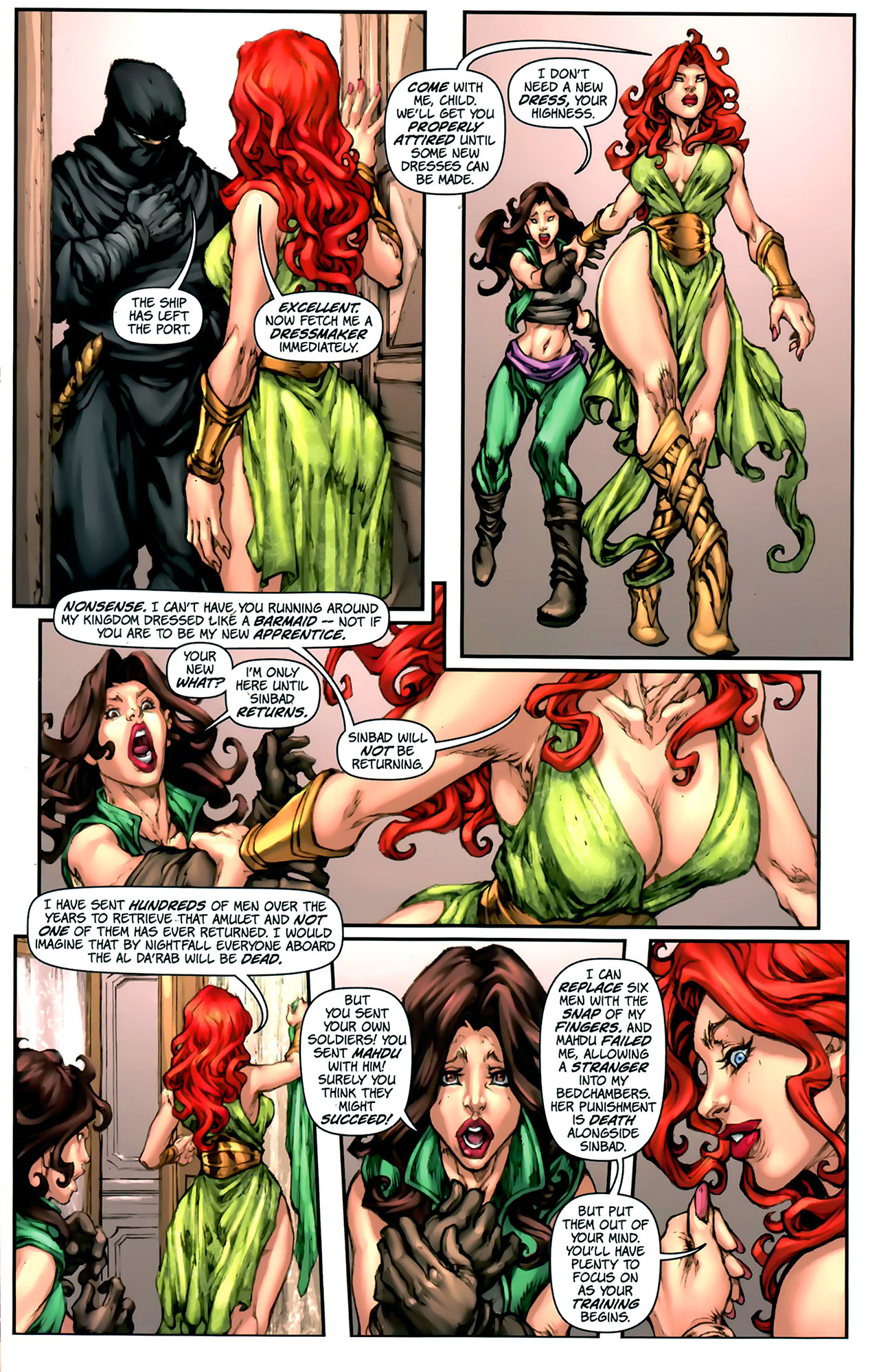 Read online 1001 Arabian Nights: The Adventures of Sinbad comic -  Issue #2 - 20