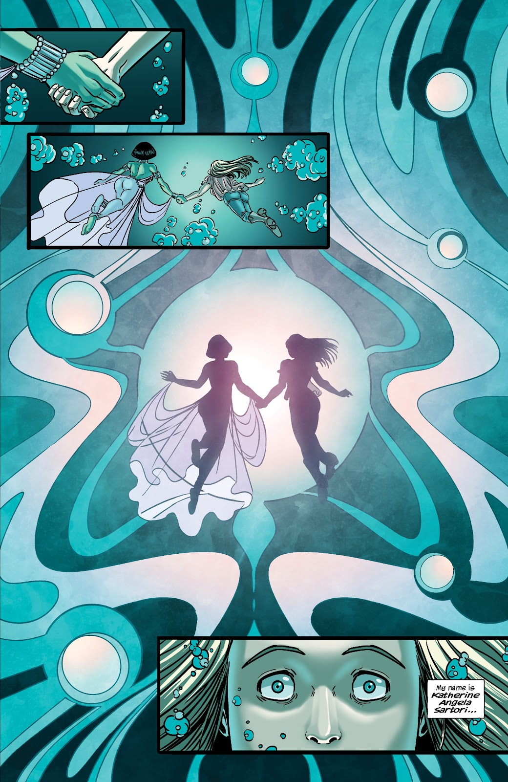 Read online The Girl In The Bay comic -  Issue #3 - 11