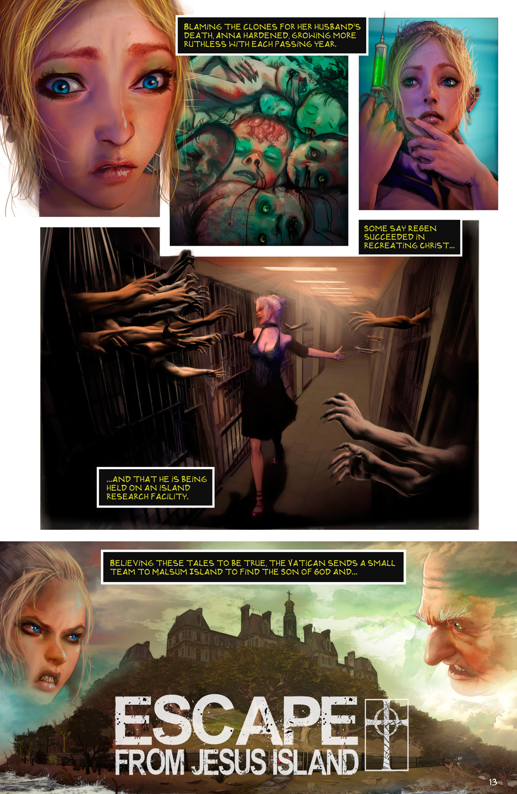 Read online Escape from Jesus Island comic -  Issue #2 - 13