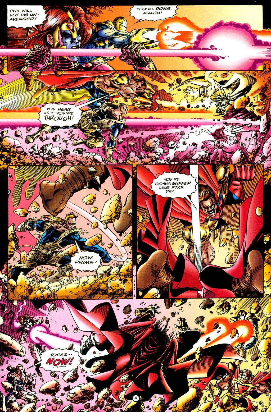 Read online UltraForce (1994) comic -  Issue #6 - 4