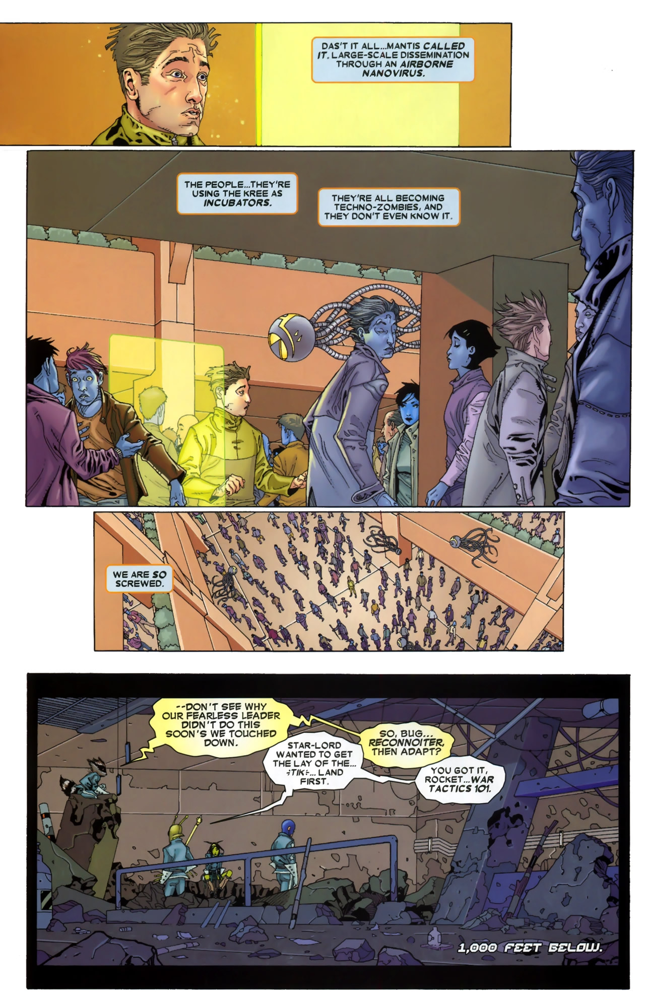 Read online Annihilation: Conquest - Starlord comic -  Issue #3 - 6