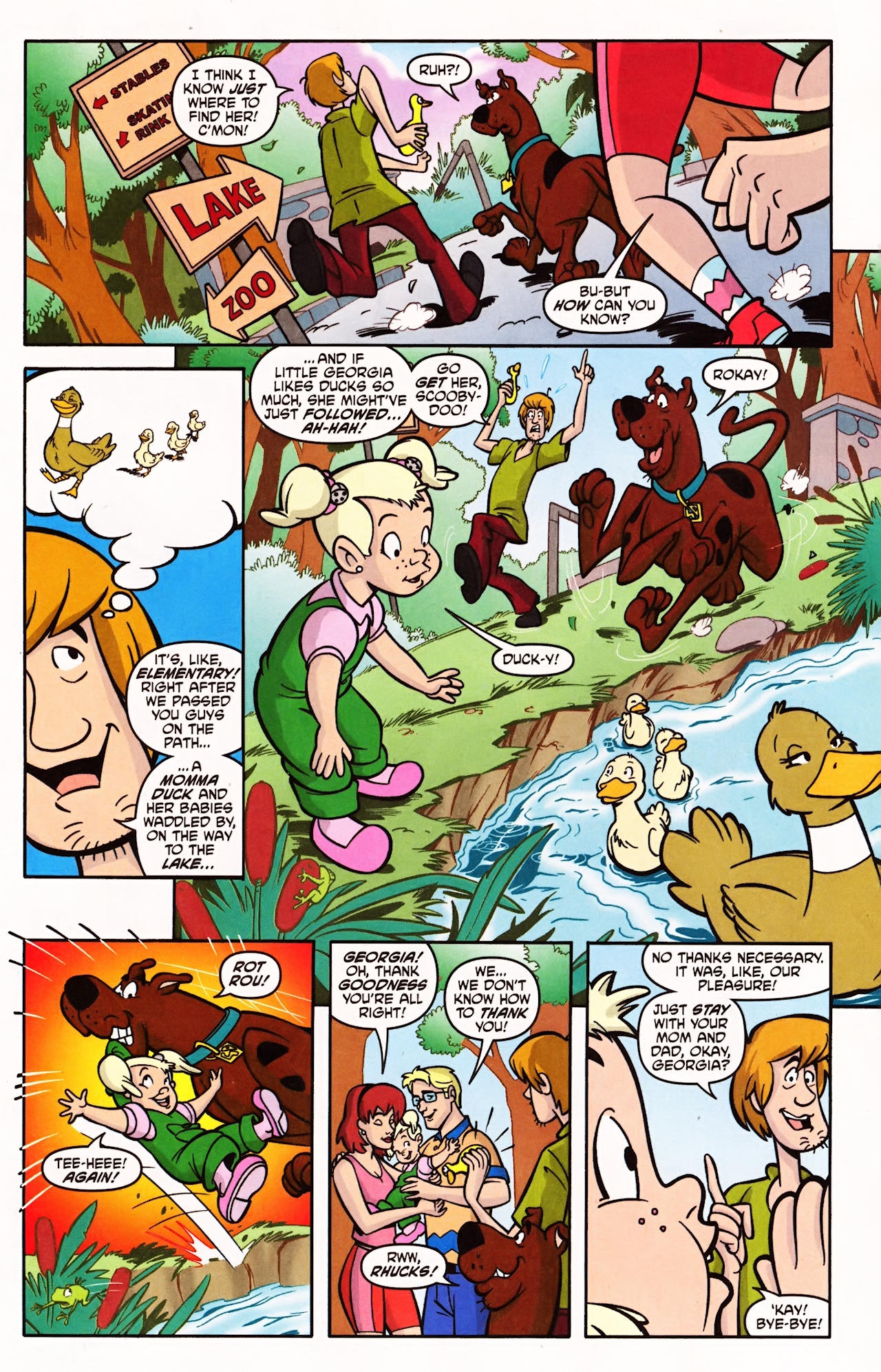 Read online Scooby-Doo (1997) comic -  Issue #143 - 18