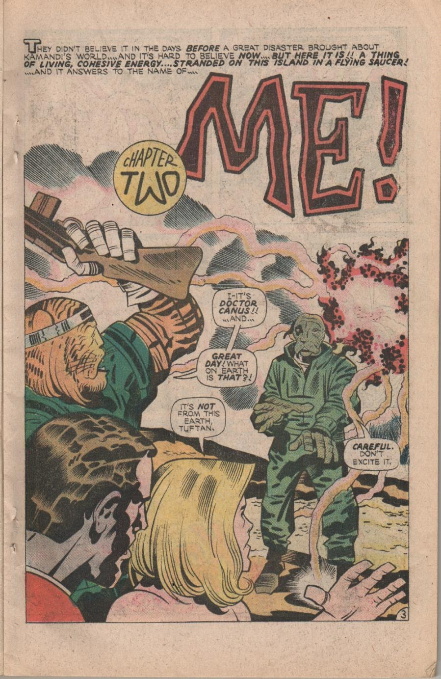 Kamandi, The Last Boy On Earth issue 32 - Page 5