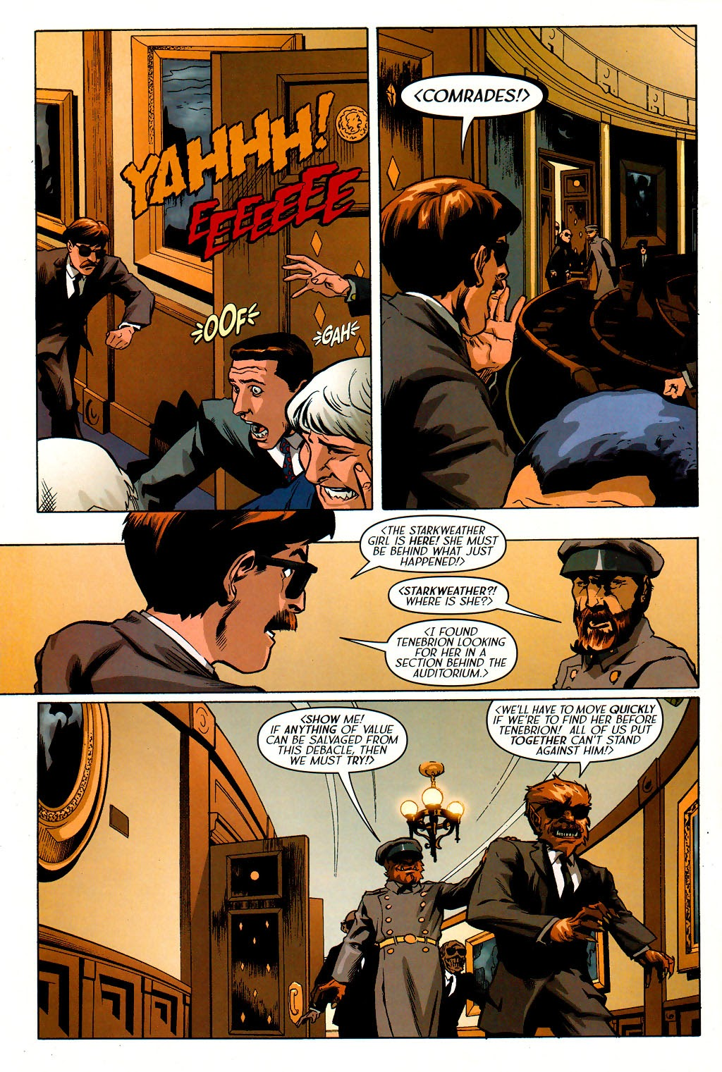 Read online Route 666 comic -  Issue #19 - 22