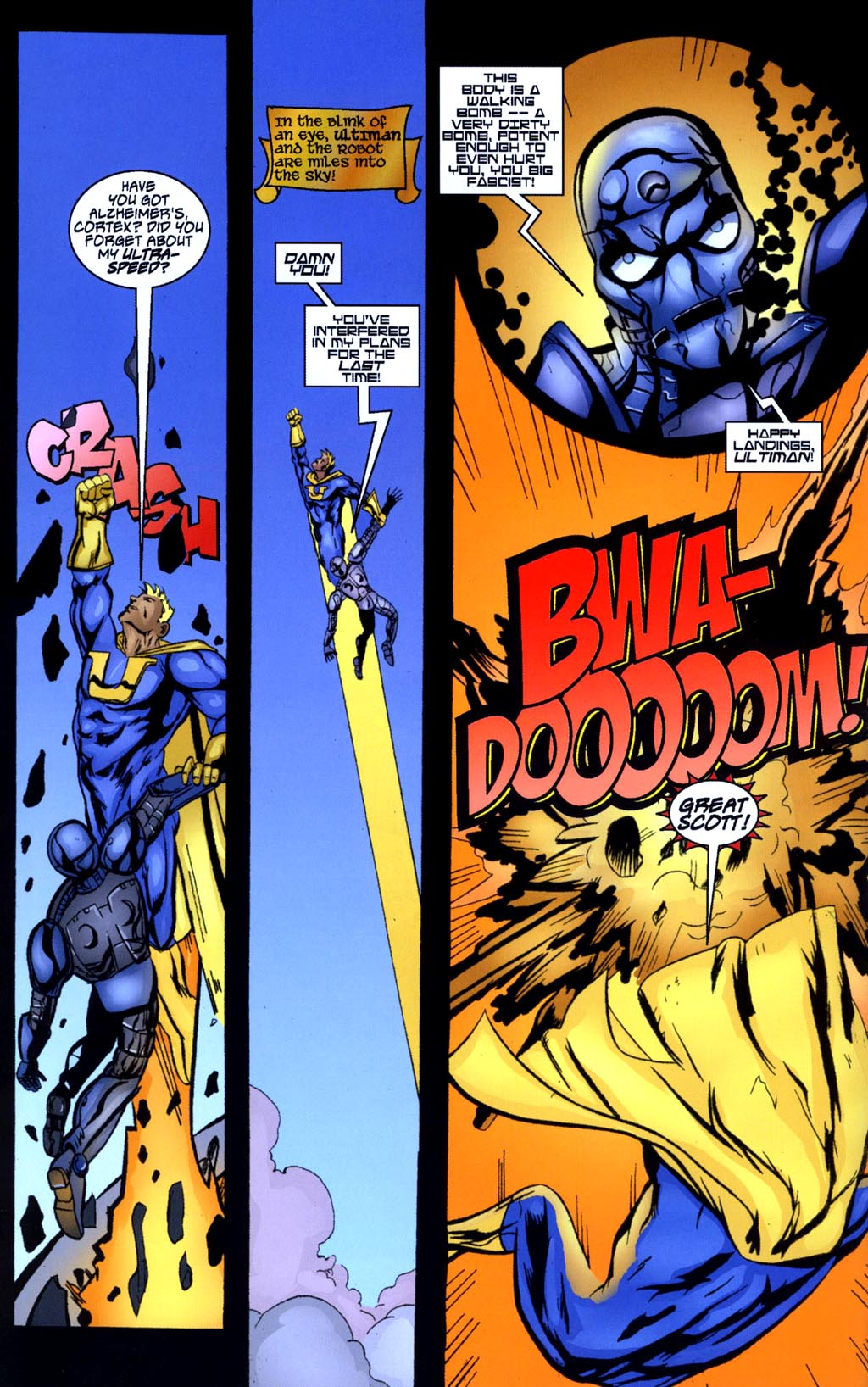 Read online Big Bang: Round Table of America comic -  Issue # Full - 6
