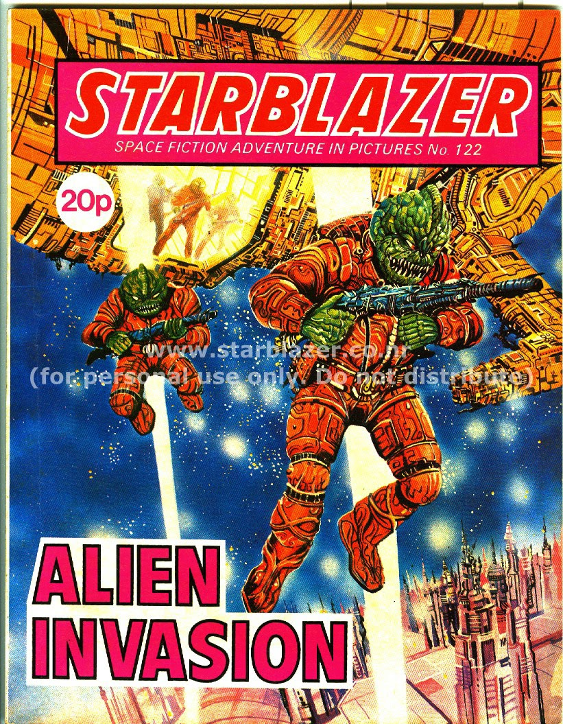 Starblazer issue 122 - Page 1