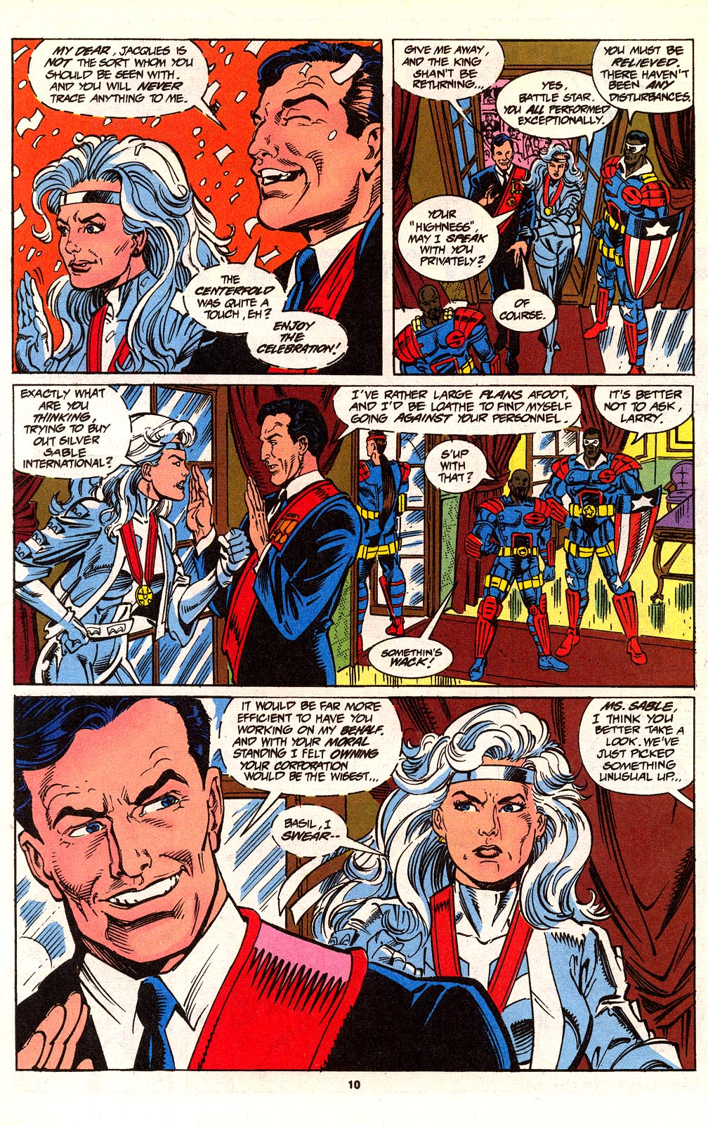 Read online Silver Sable and the Wild Pack comic -  Issue #24 - 8