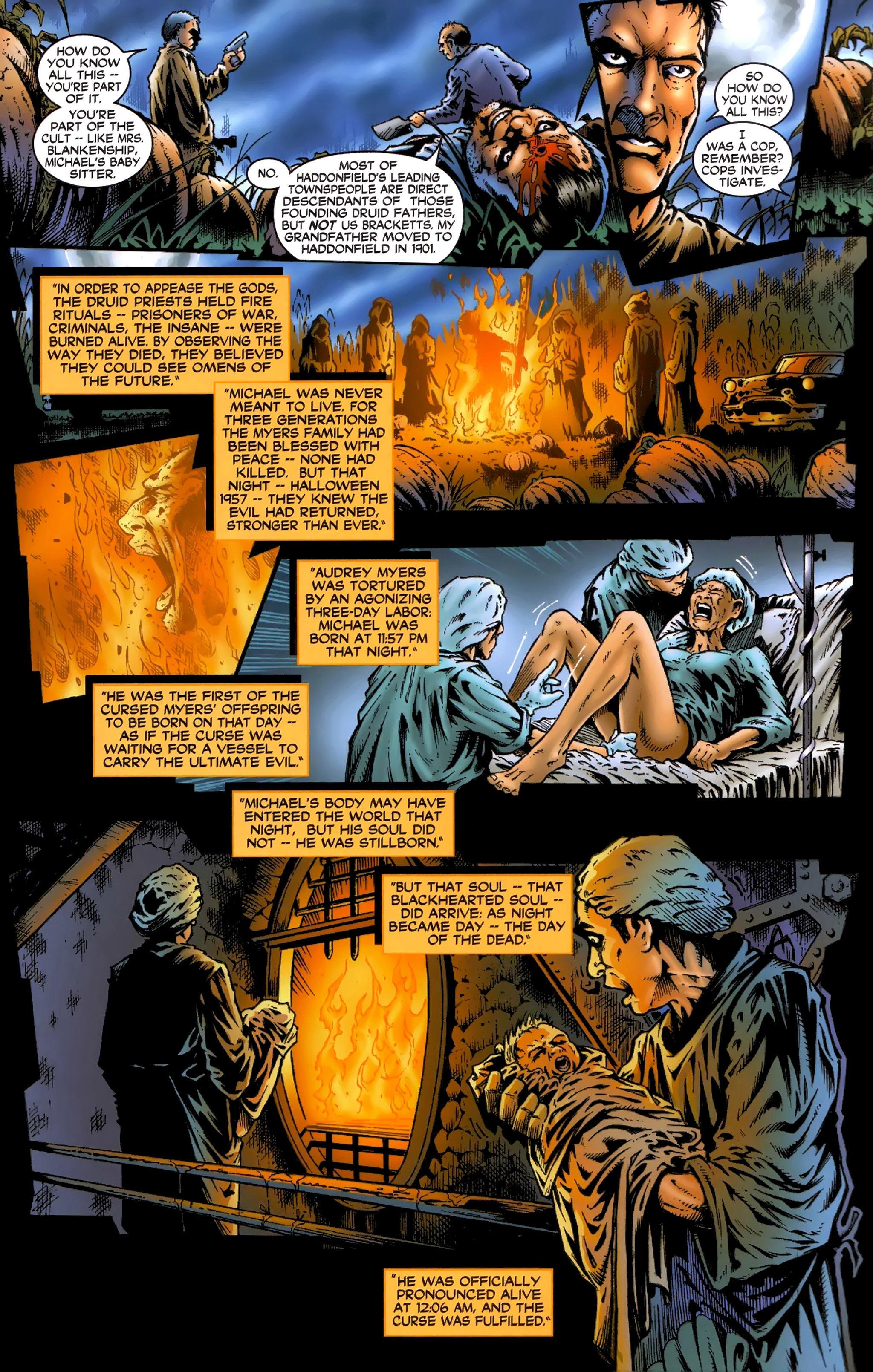 Read online Halloween II: The Blackest Eyes comic -  Issue # Full - 15