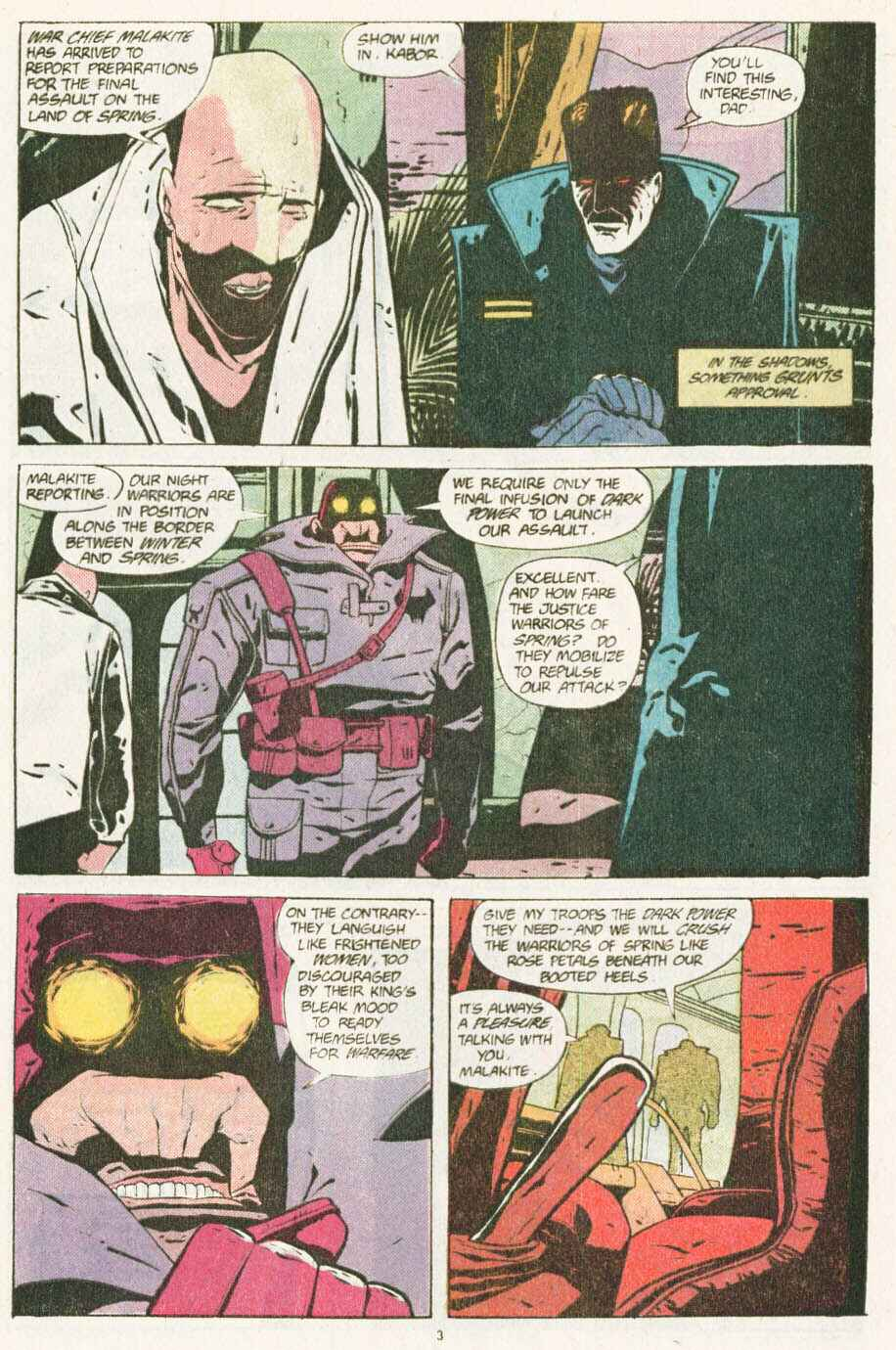 Read online Justice (1986) comic -  Issue #10 - 4