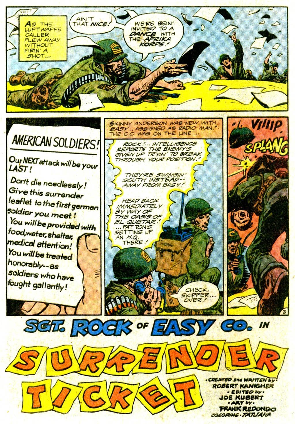 Read online Sgt. Rock comic -  Issue #370 - 5