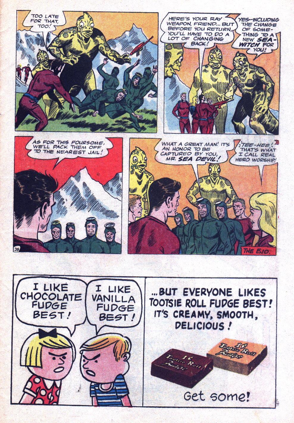 Read online Sea Devils comic -  Issue #20 - 33