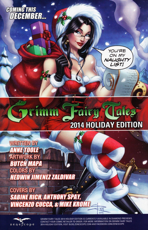 Read online Grimm Fairy Tales vs. Wonderland comic -  Issue #4 - 28