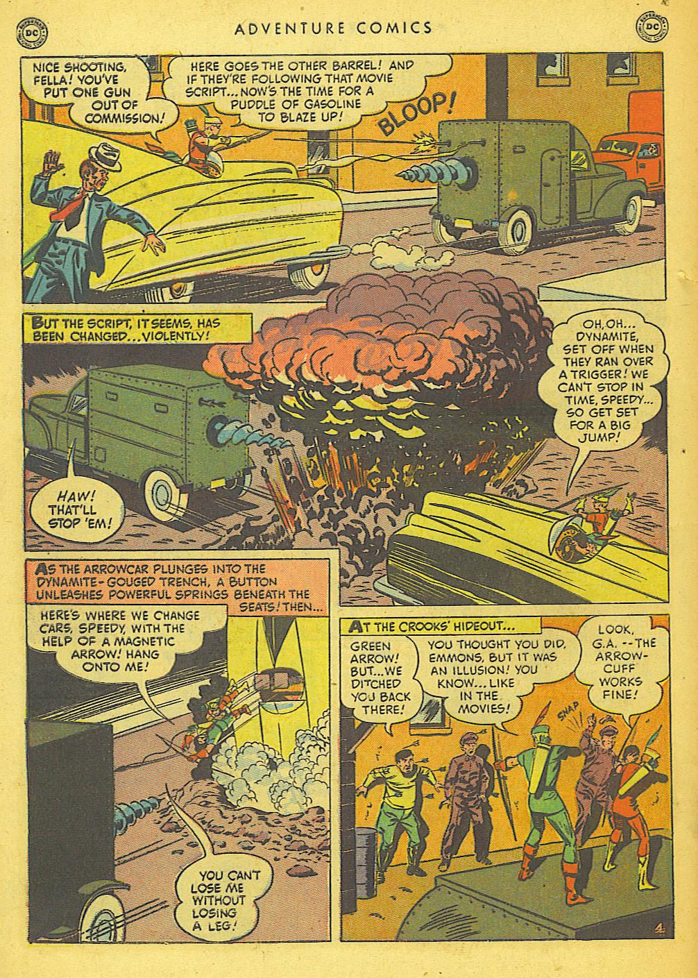 Read online Adventure Comics (1938) comic -  Issue #155 - 42