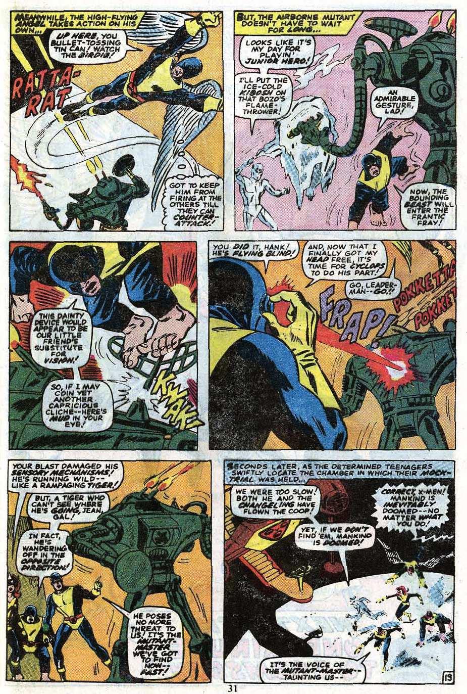 Read online Uncanny X-Men (1963) comic -  Issue #85 - 33