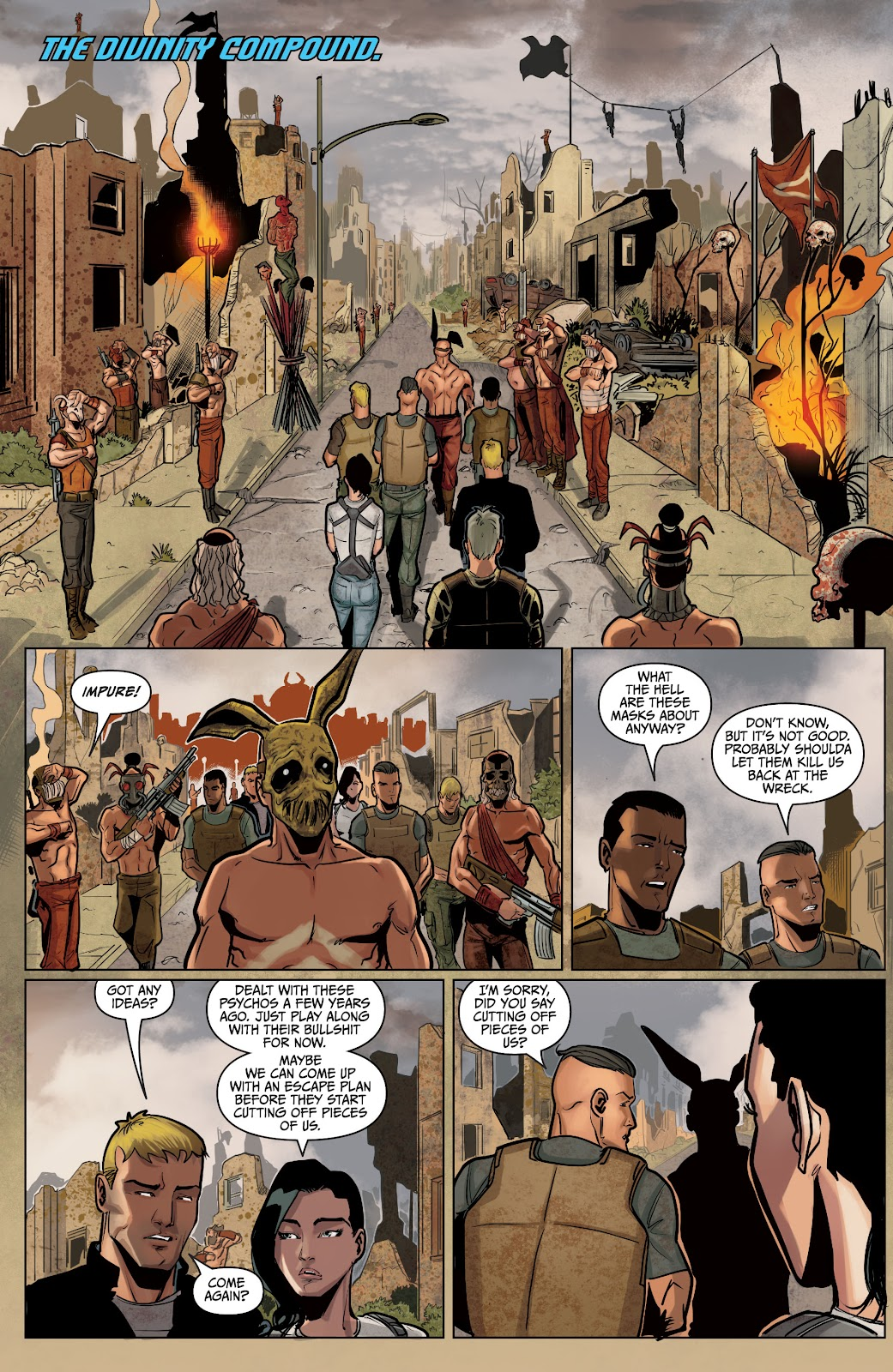 The Courier: Liberty & Death issue 2 - Page 15