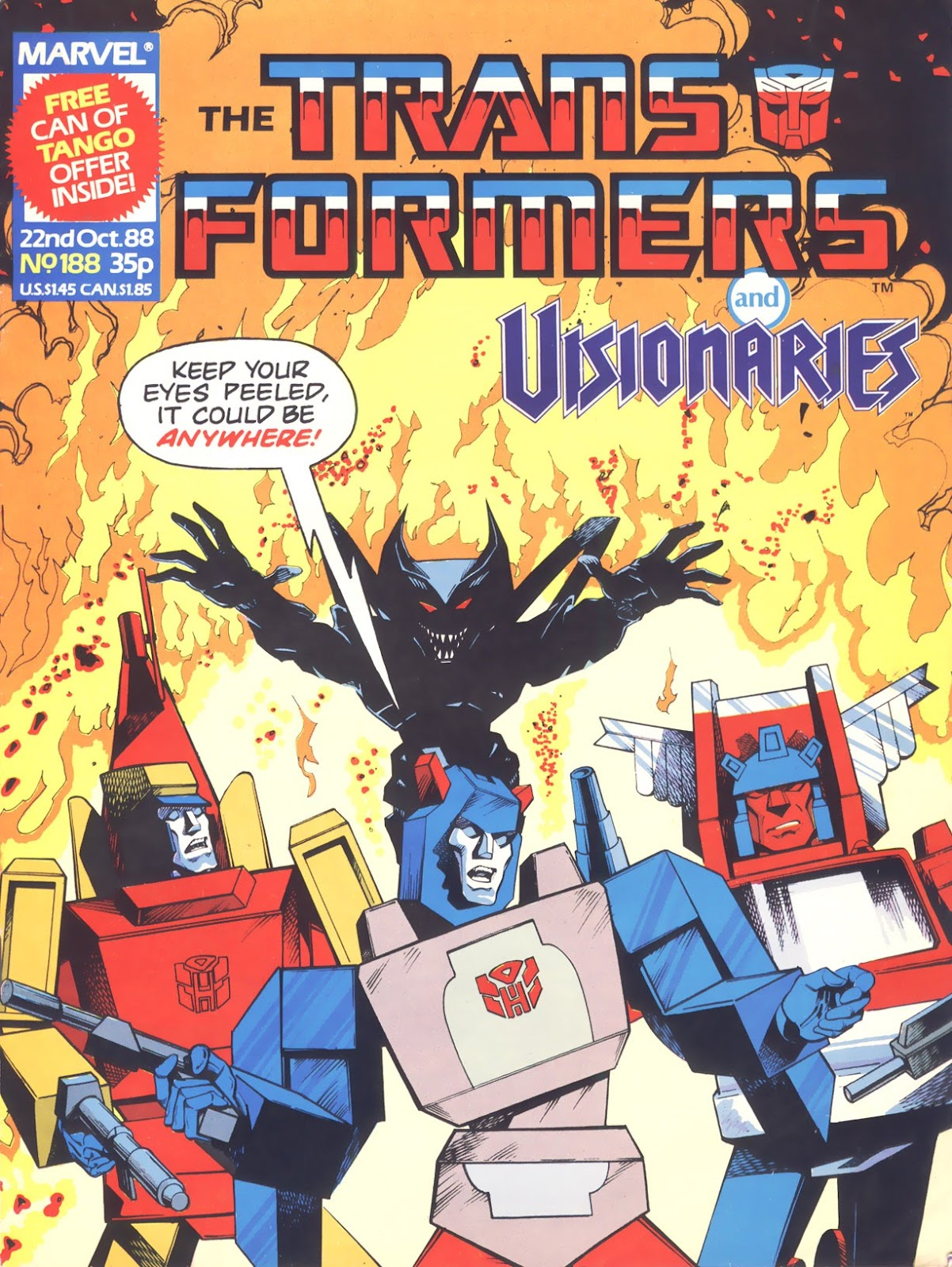The Transformers (UK) 188 Page 1