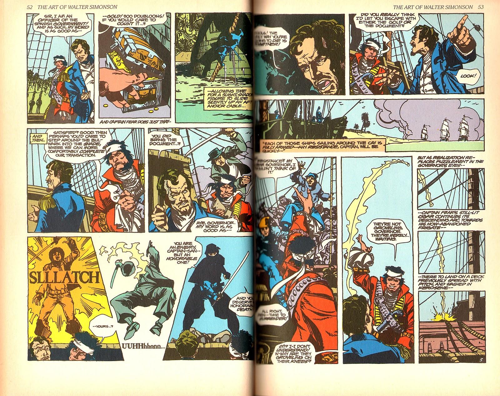 Read online The Art of Walter Simonson comic -  Issue # TPB - 28