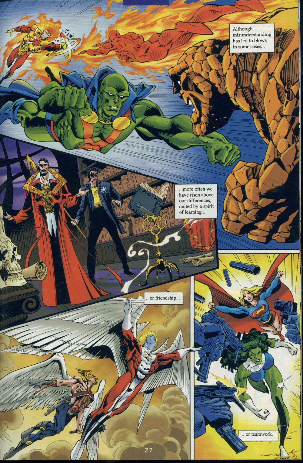Read online DC Versus Marvel Comics comic -  Issue #1 - 29