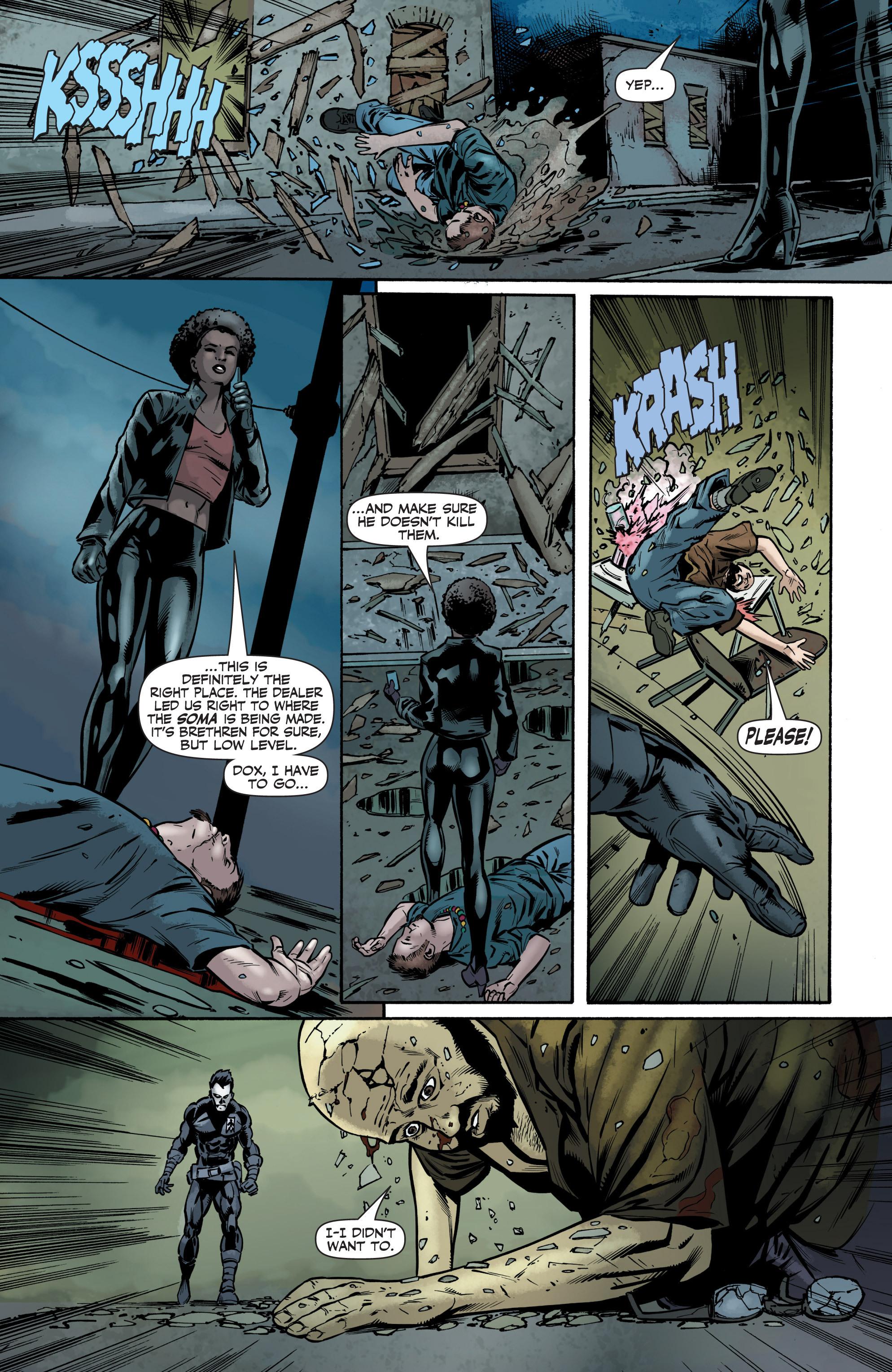 Read online Shadowman (2012) comic -  Issue #6 - 10