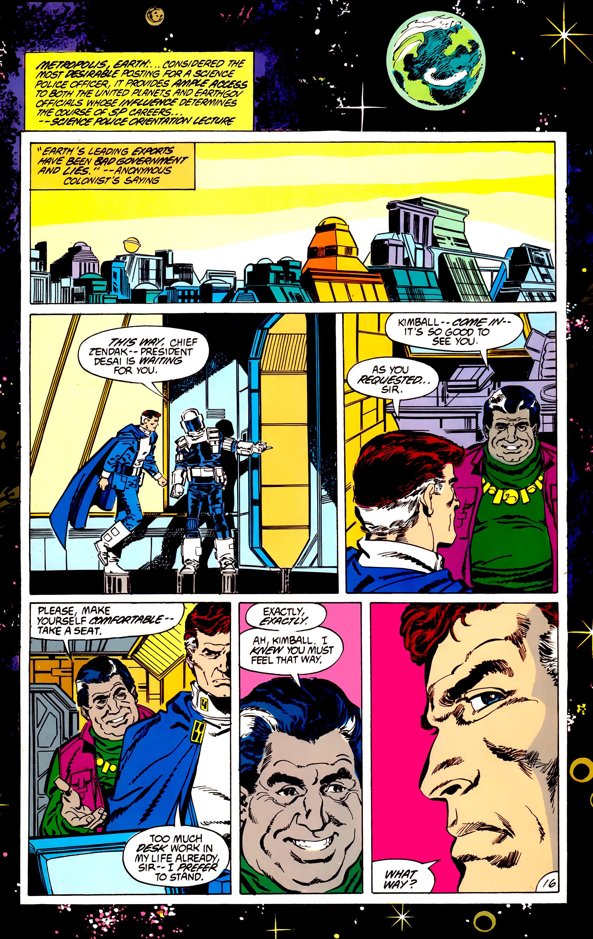 Legion of Super-Heroes (1984) 56 Page 16