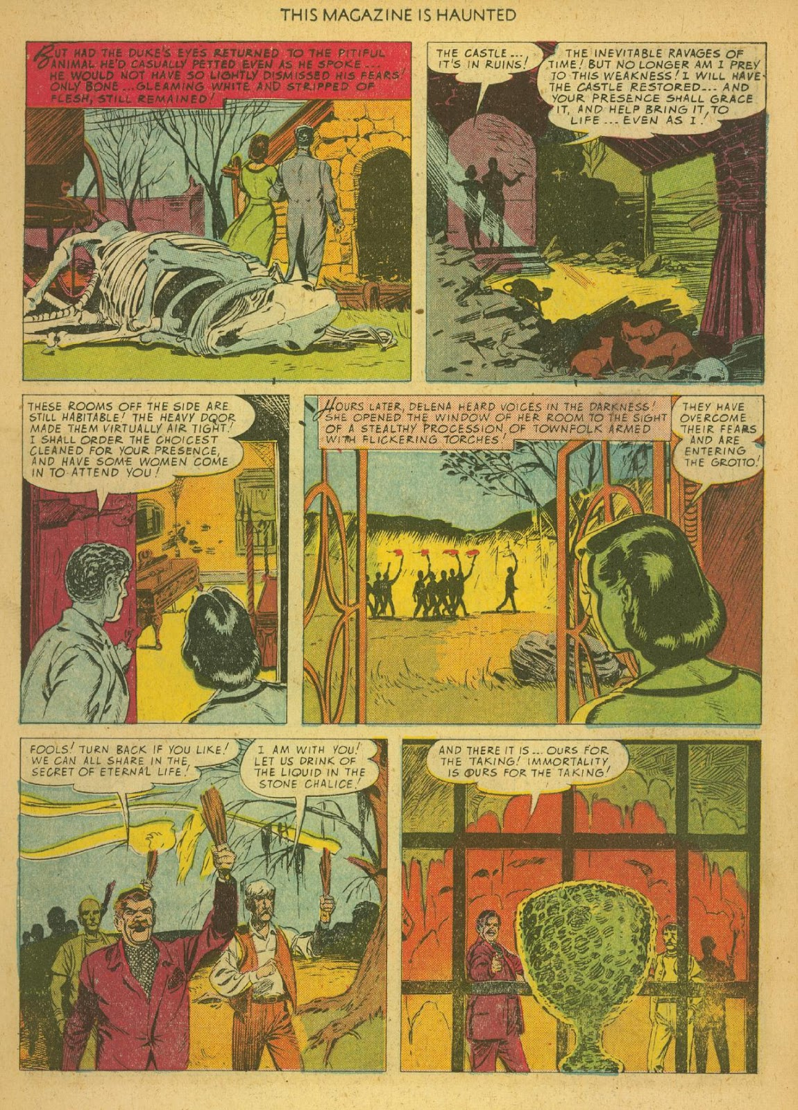Read online This Magazine Is Haunted comic -  Issue #1 - 11