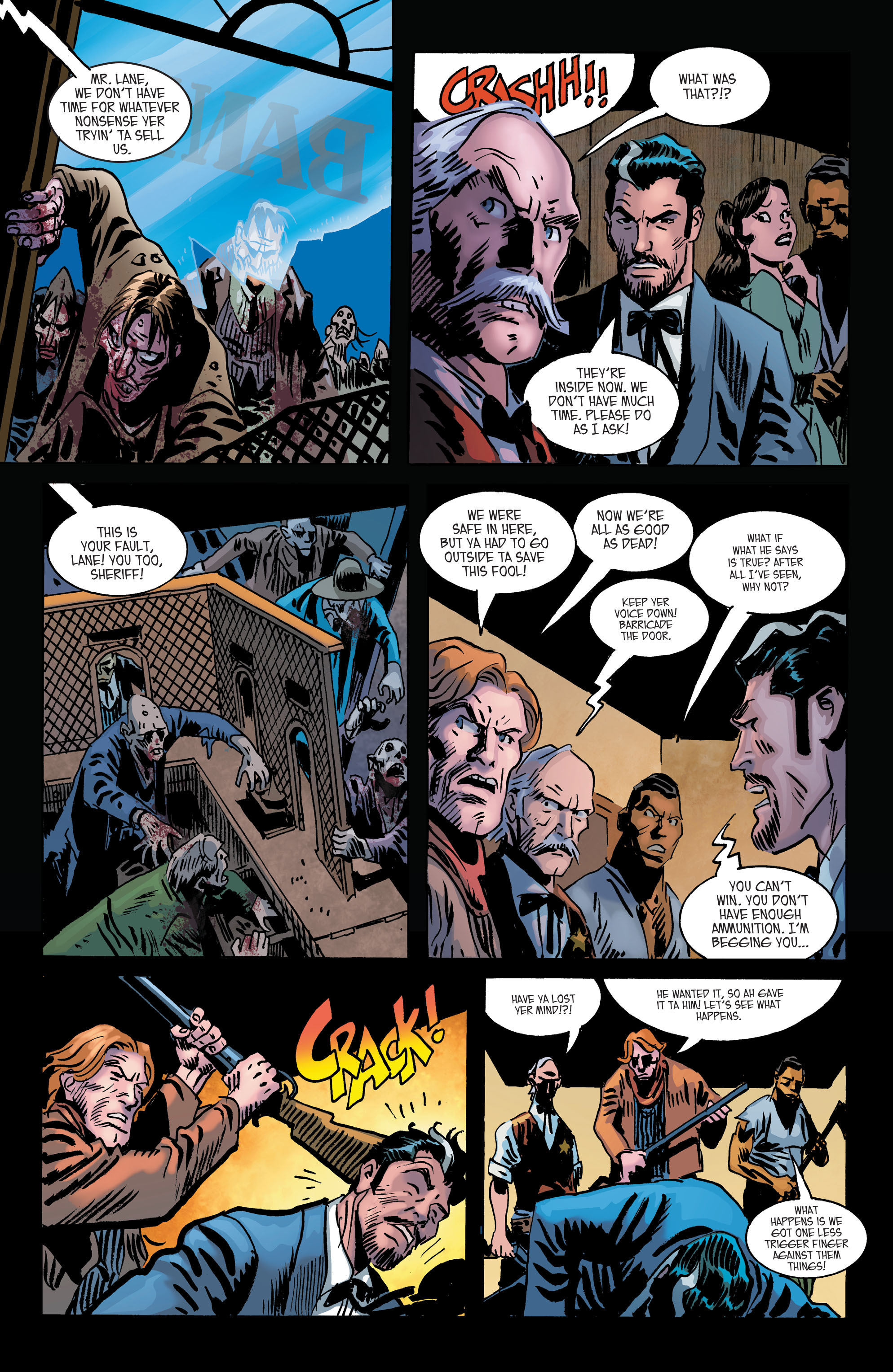 Read online All-Star Western (2011) comic -  Issue #2 - 27