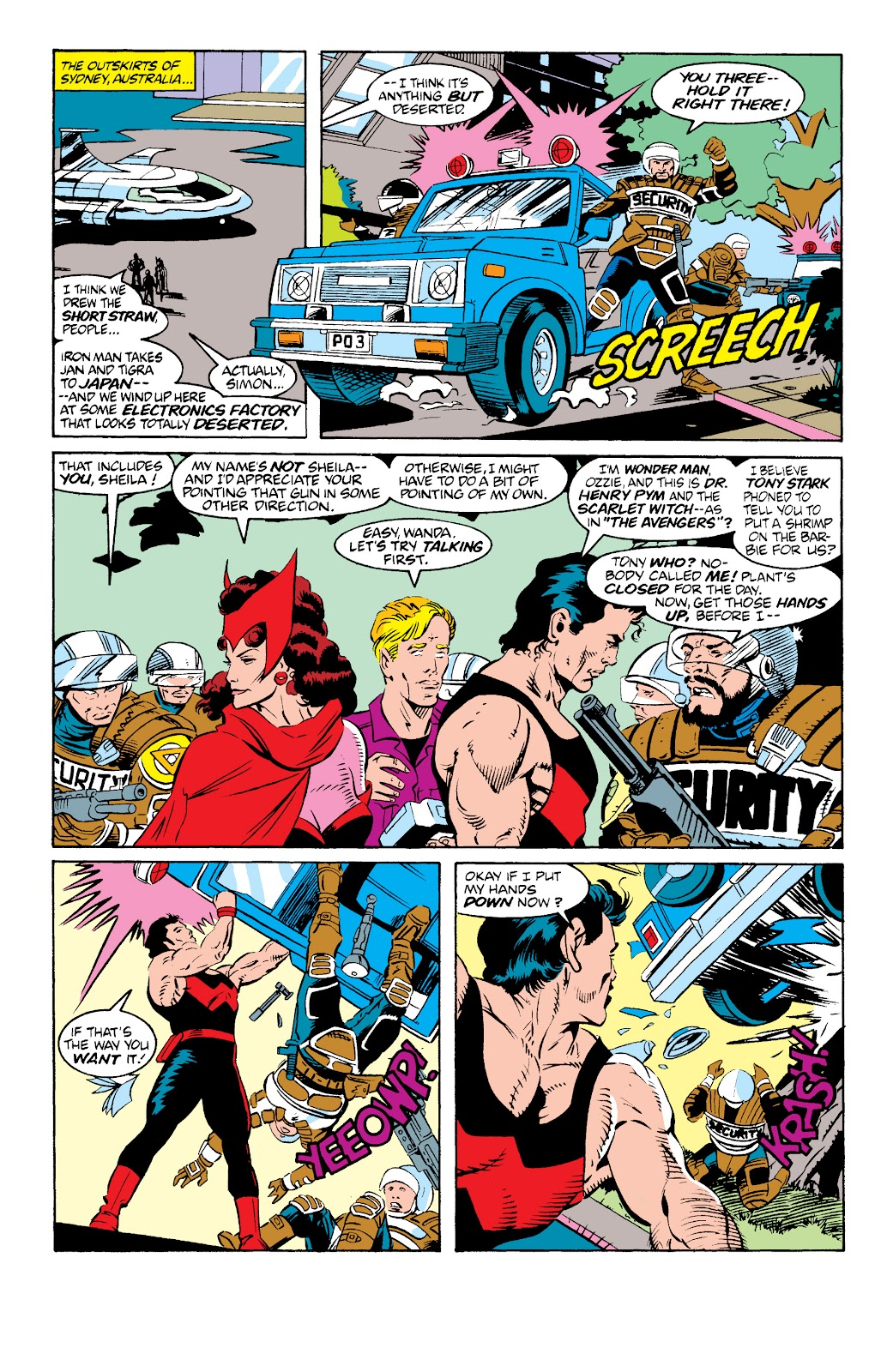 Avengers West Coast (1989) issue 73 - Page 8