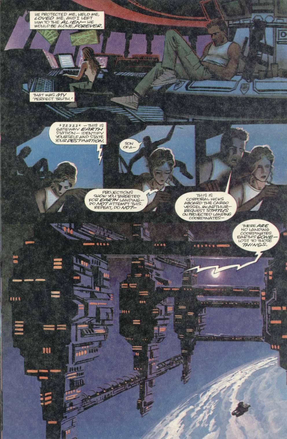 Read online Aliens (1989) comic -  Issue #4 - 17
