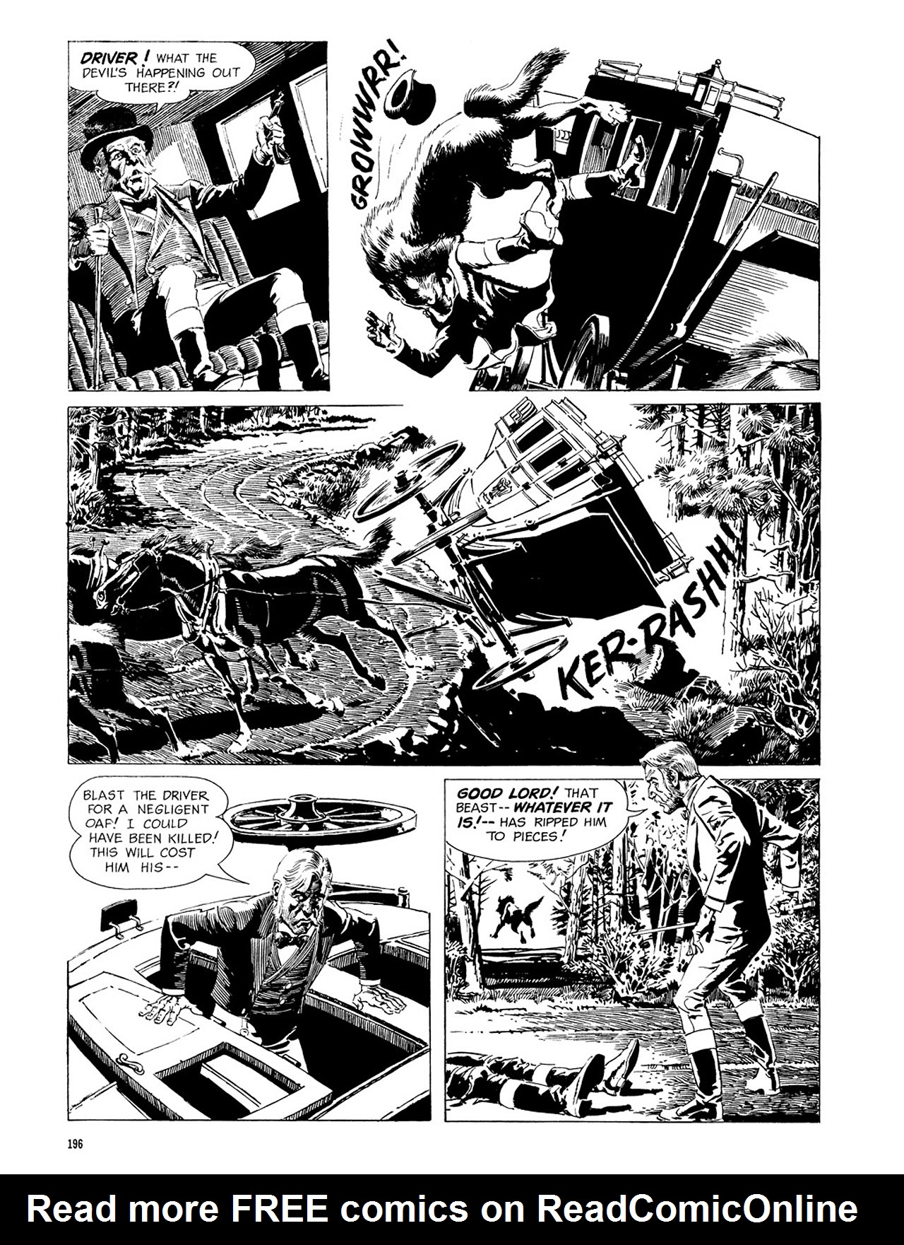 Read online Eerie Archives comic -  Issue # TPB 3 - 197