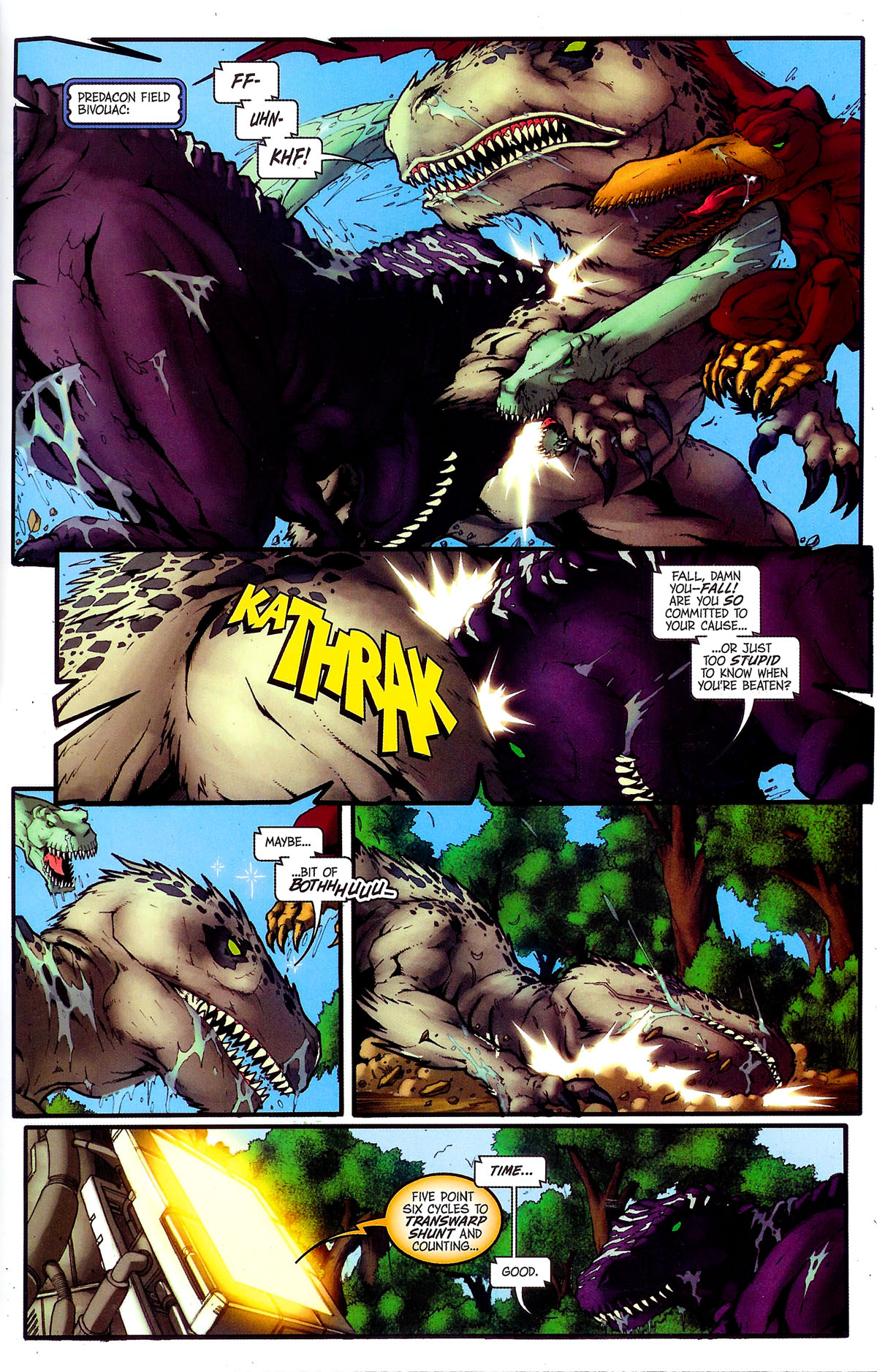Read online Transformers, Beast Wars: The Gathering comic -  Issue #4 - 12