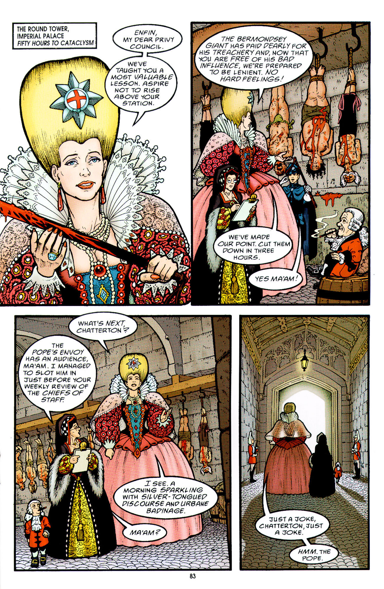Read online Heart of Empire comic -  Issue #3 - 25