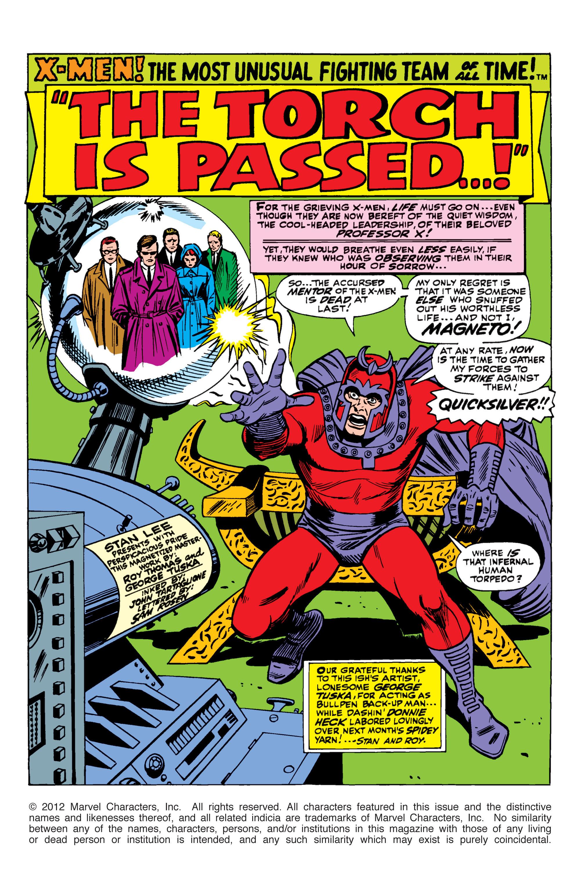 Uncanny X-Men (1963) 43 Page 1