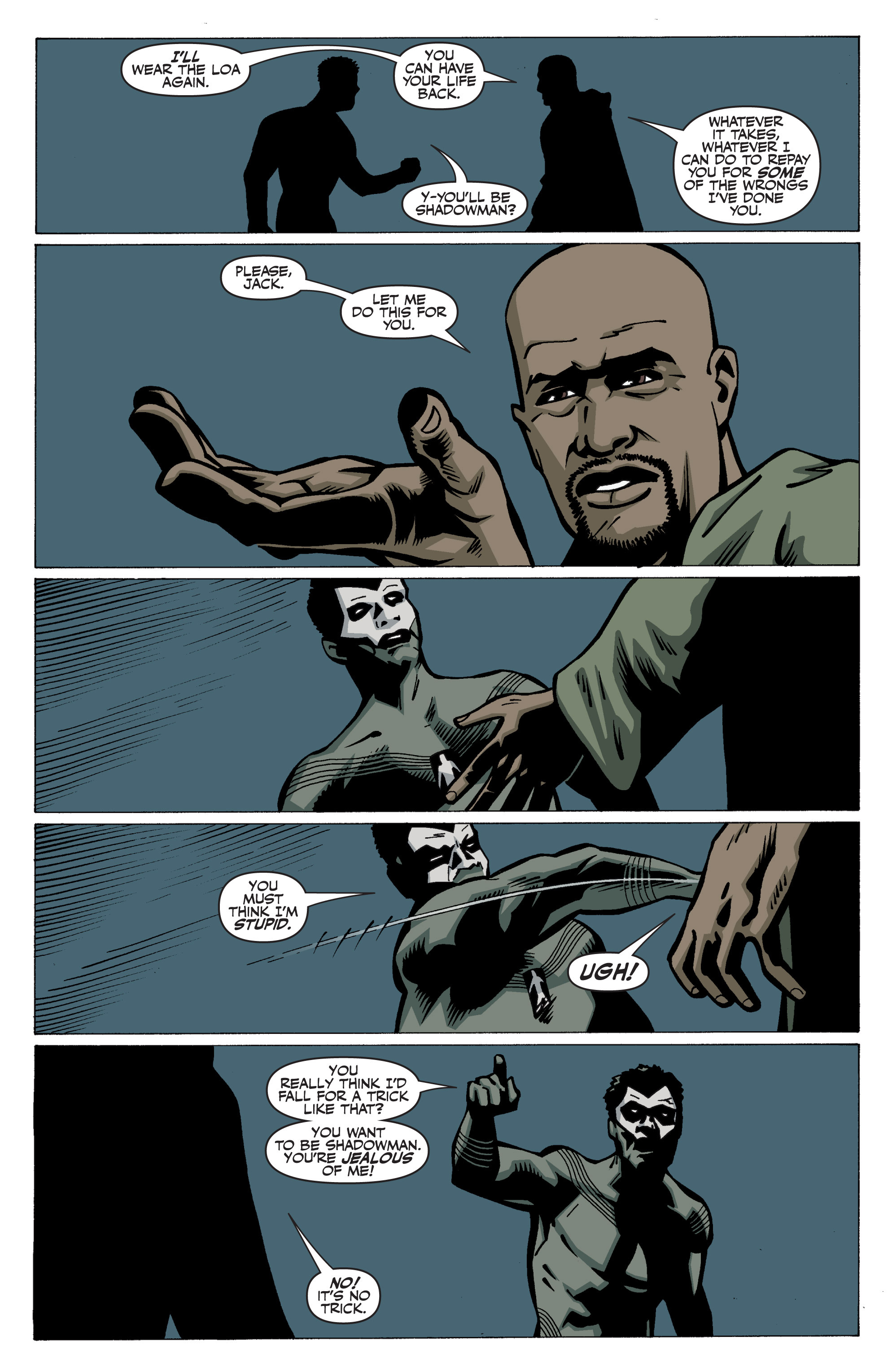 Read online Shadowman: End Times comic -  Issue #3 - 22