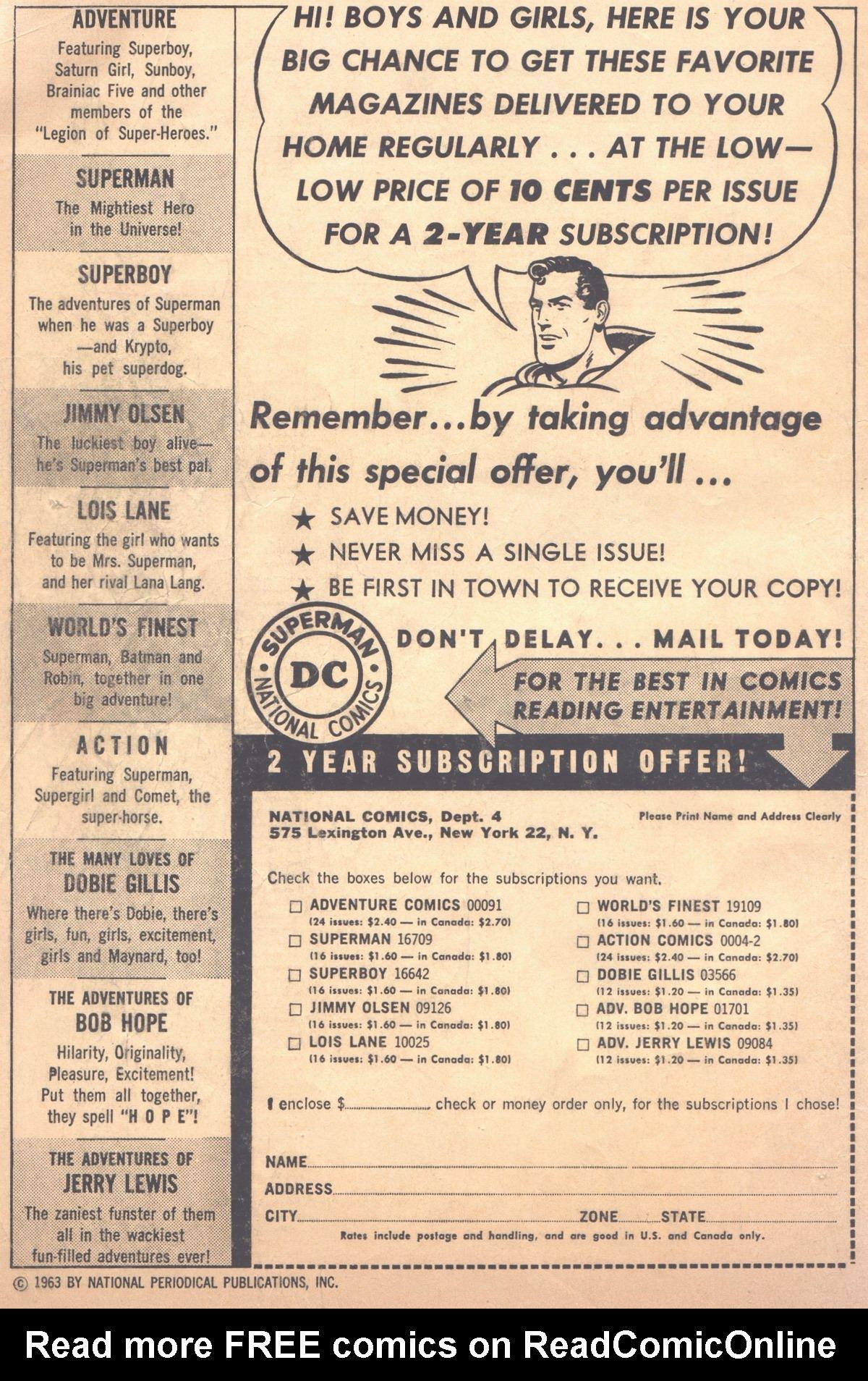 Read online Adventure Comics (1938) comic -  Issue #310 - 2