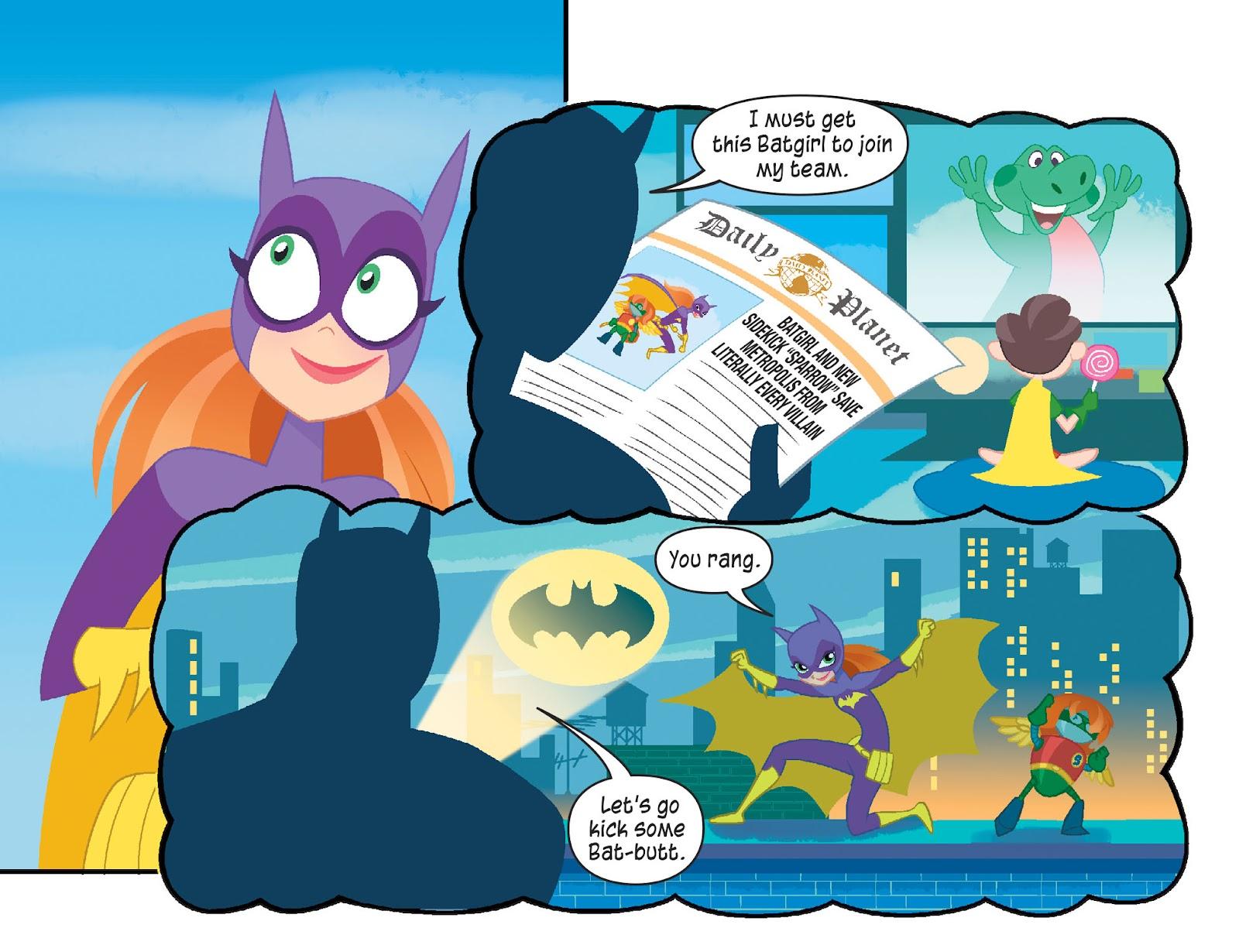 Read online DC Super Hero Girls: Weird Science comic -  Issue #10 - 20